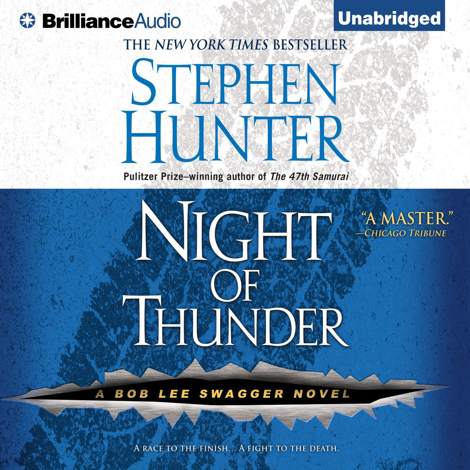 Printable Night of Thunder Audiobook Cover Art