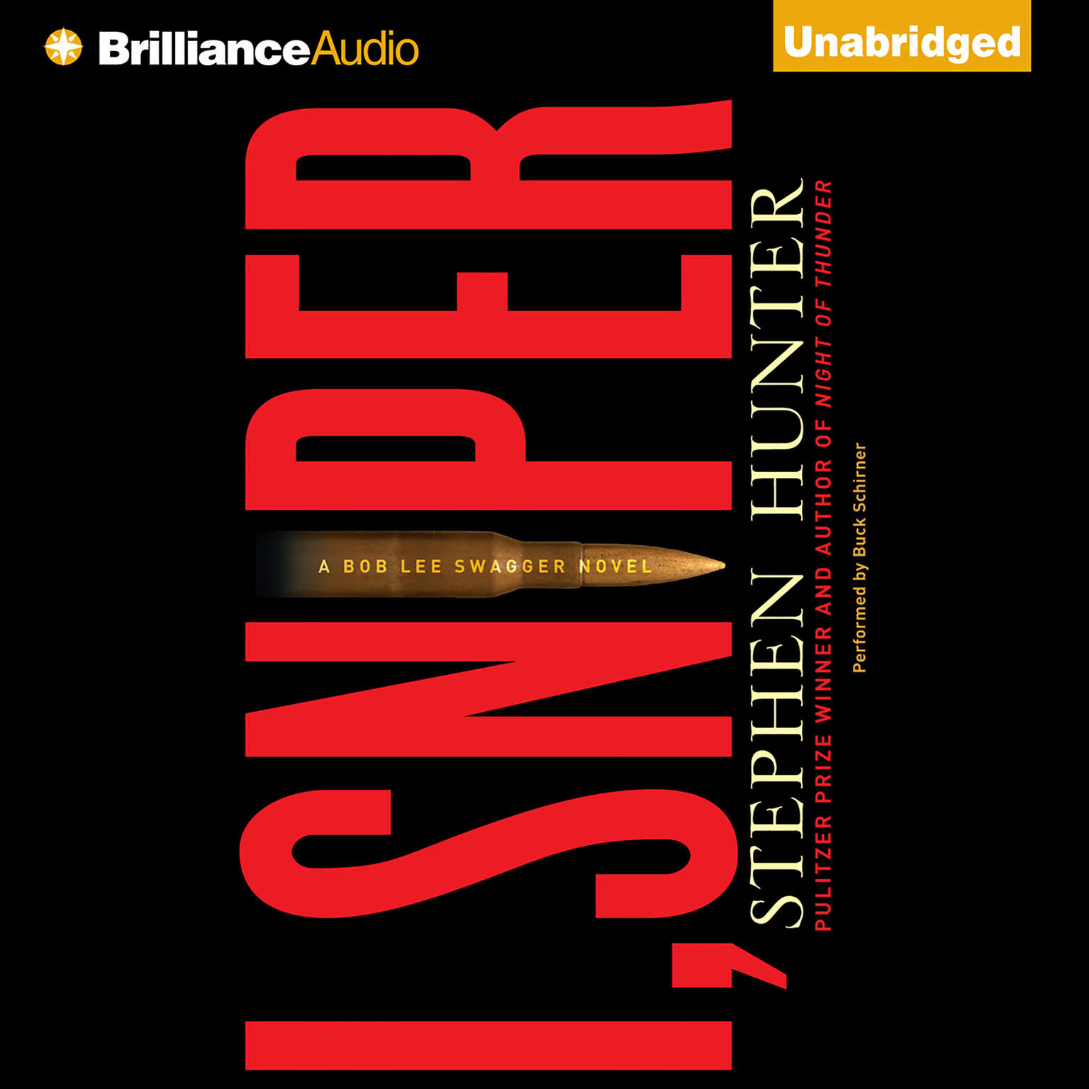 Printable I, Sniper: A Bob Lee Swagger Novel Audiobook Cover Art
