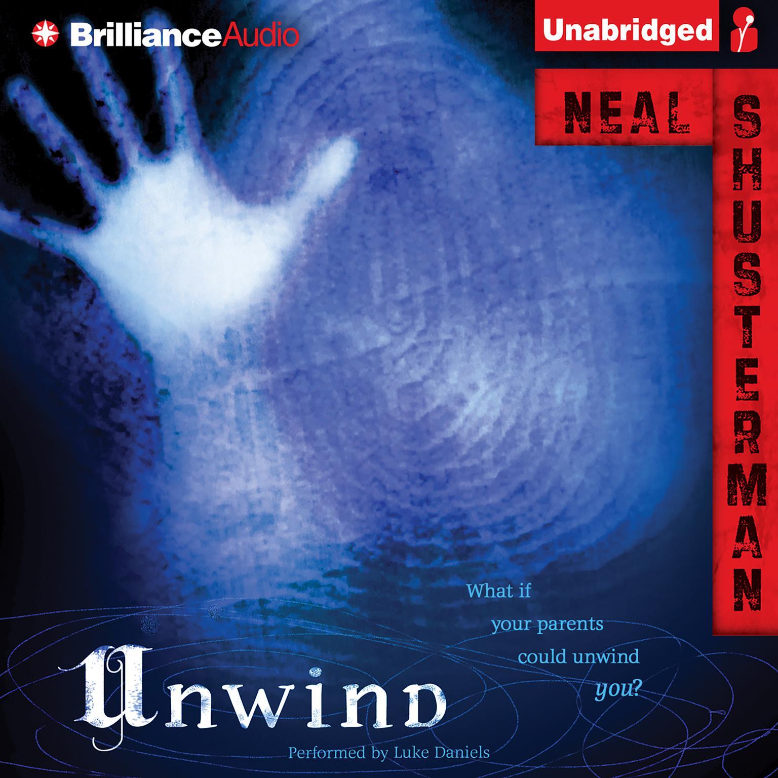Printable Unwind Audiobook Cover Art