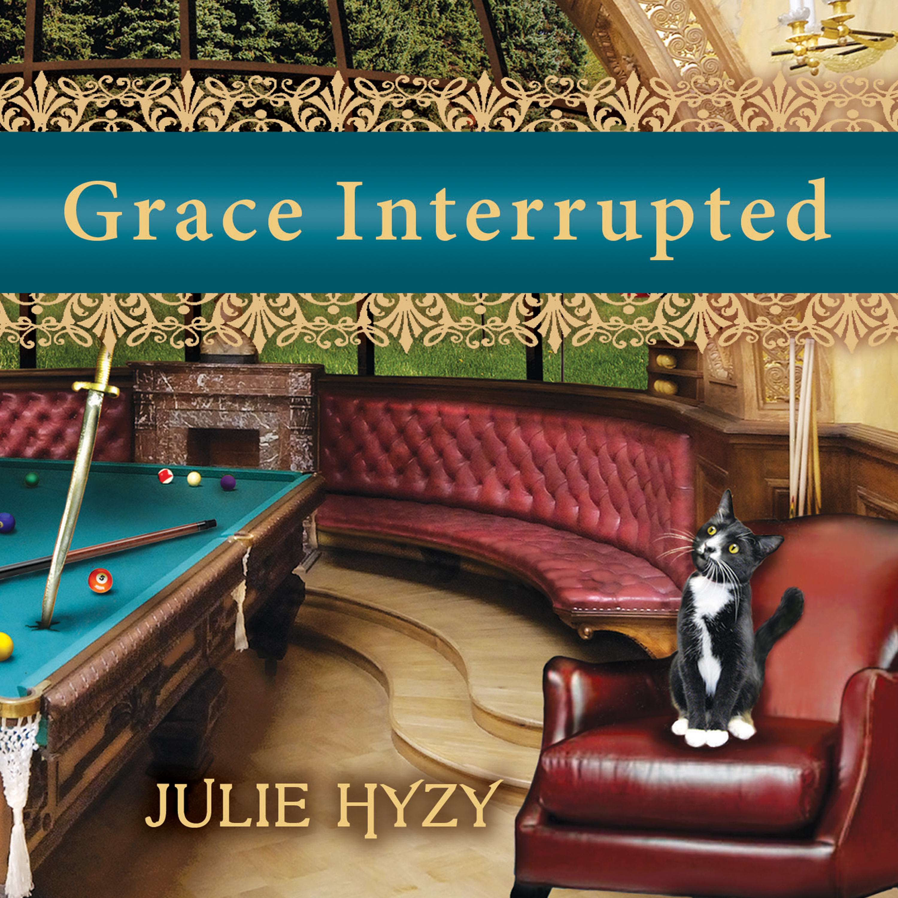 Printable Grace Interrupted Audiobook Cover Art