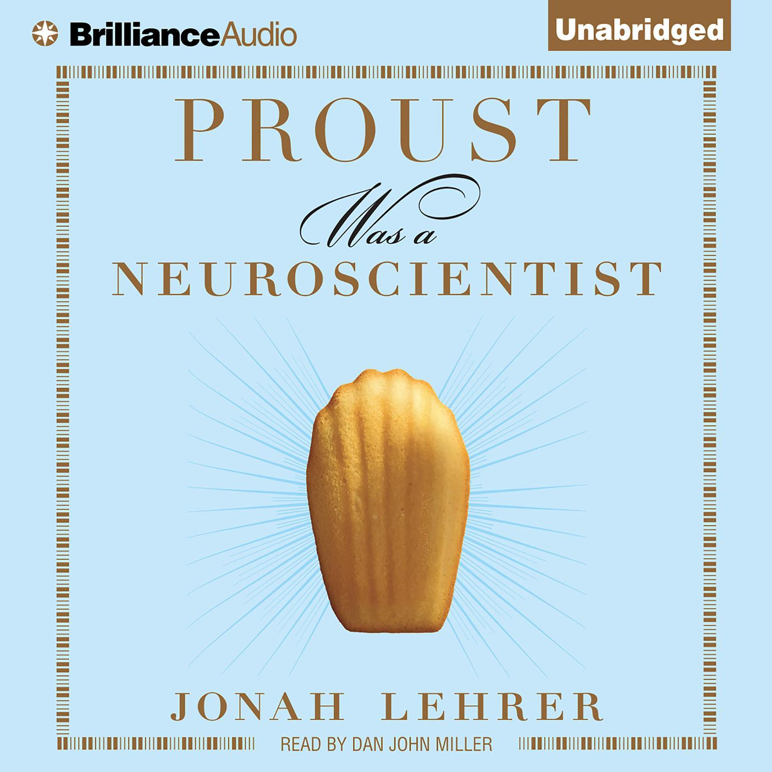 Printable Proust Was a Neuroscientist Audiobook Cover Art