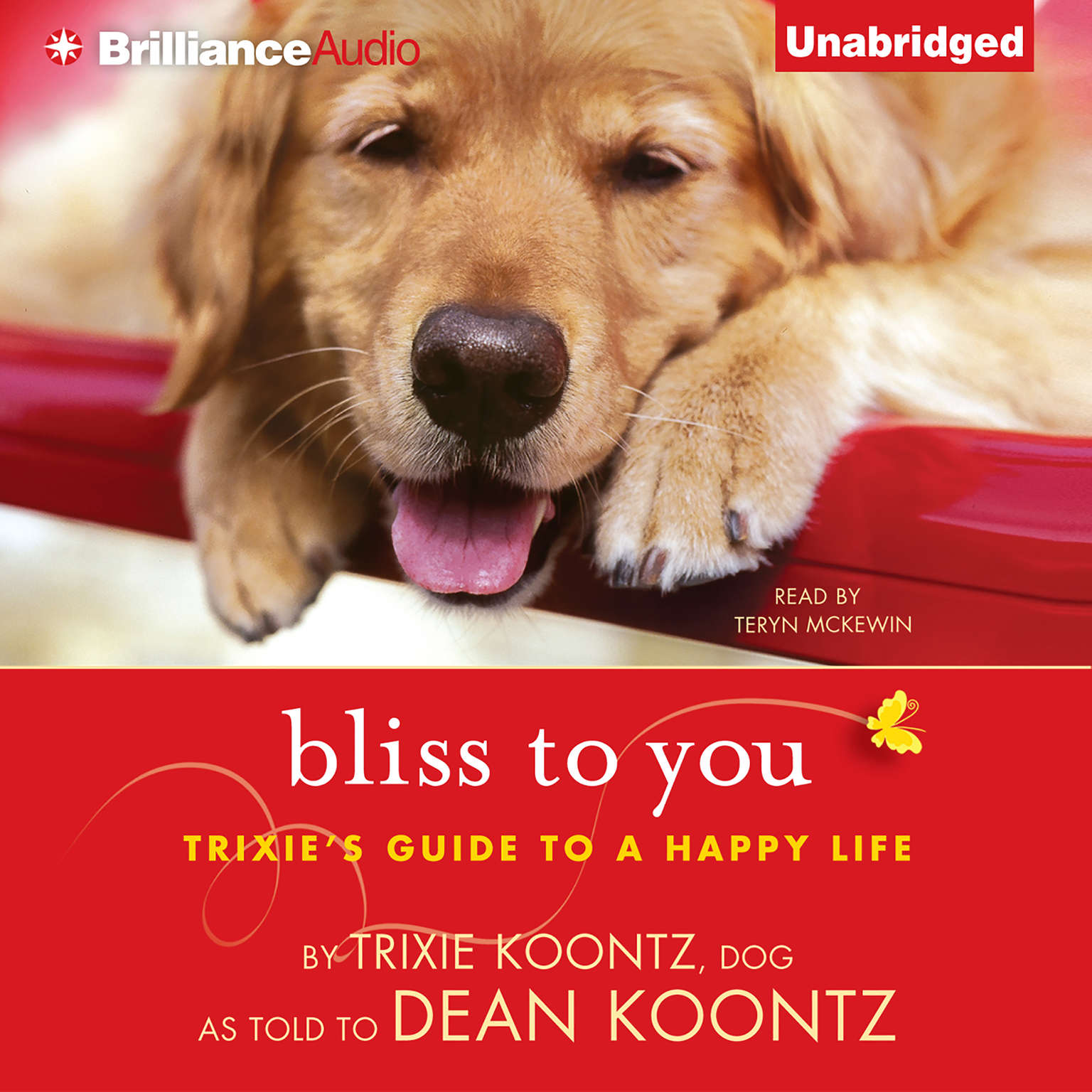 Printable Bliss to You: Trixie's Guide to a Happy Life Audiobook Cover Art