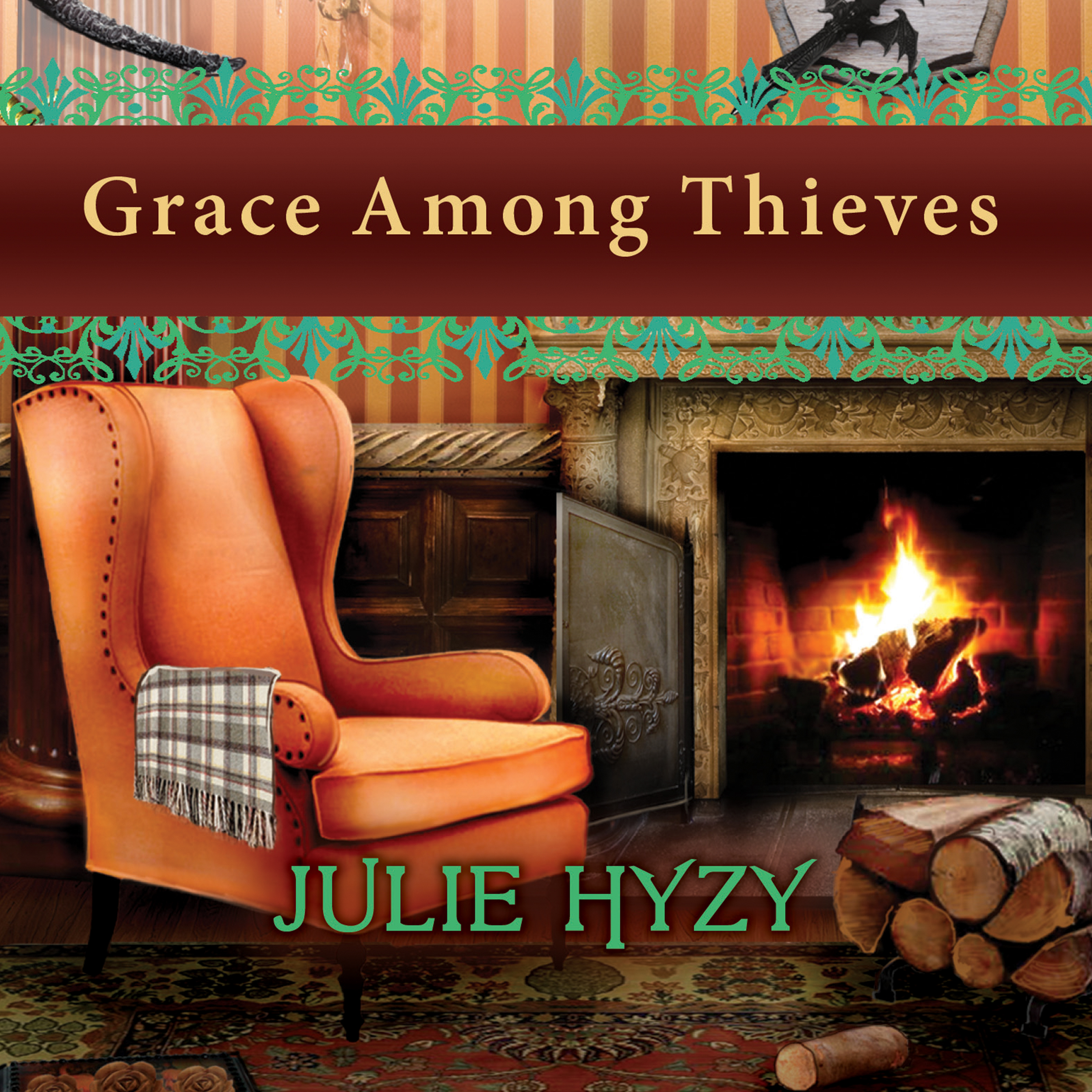 Printable Grace Among Thieves Audiobook Cover Art