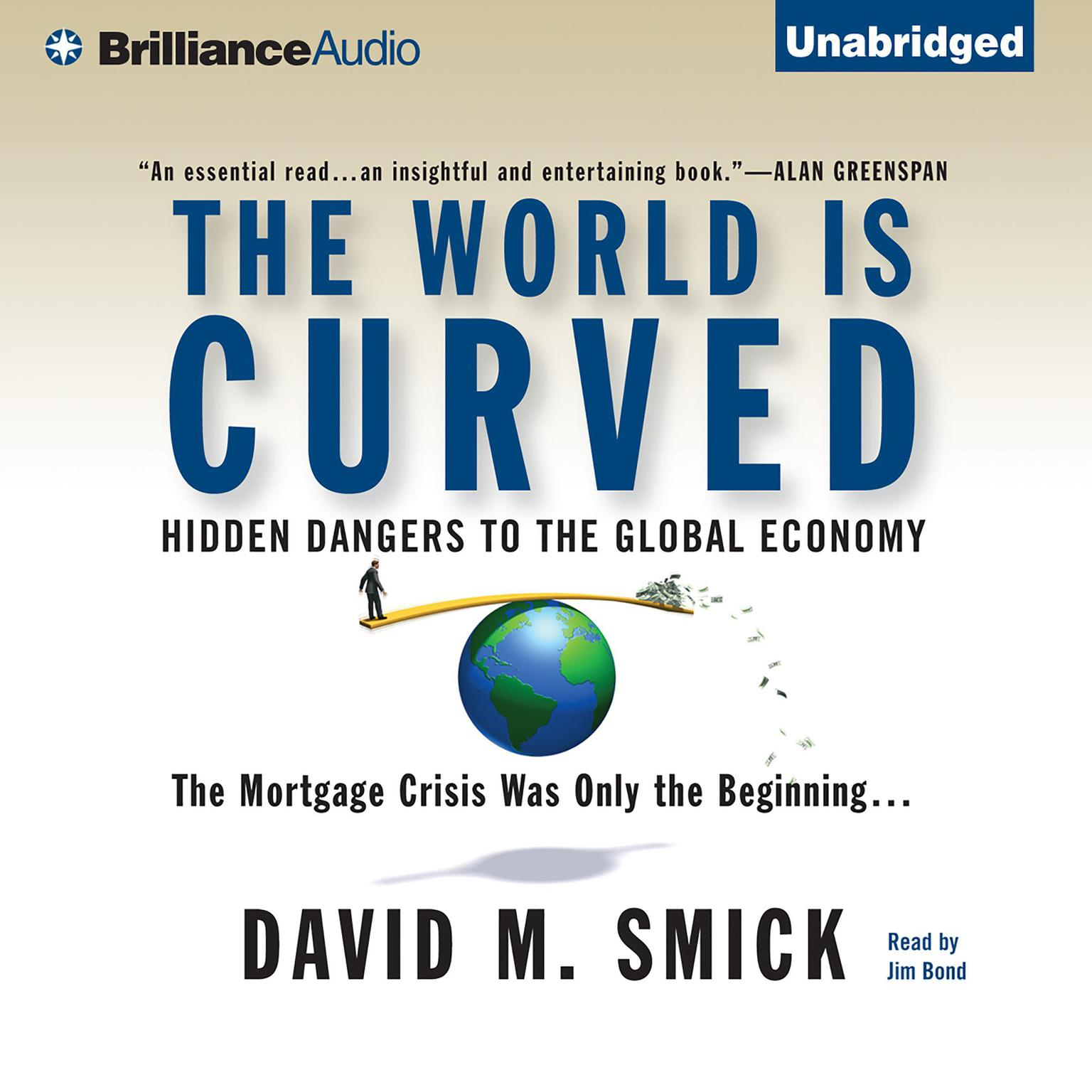 Printable The World is Curved: Hidden Dangers to the Global Economy Audiobook Cover Art