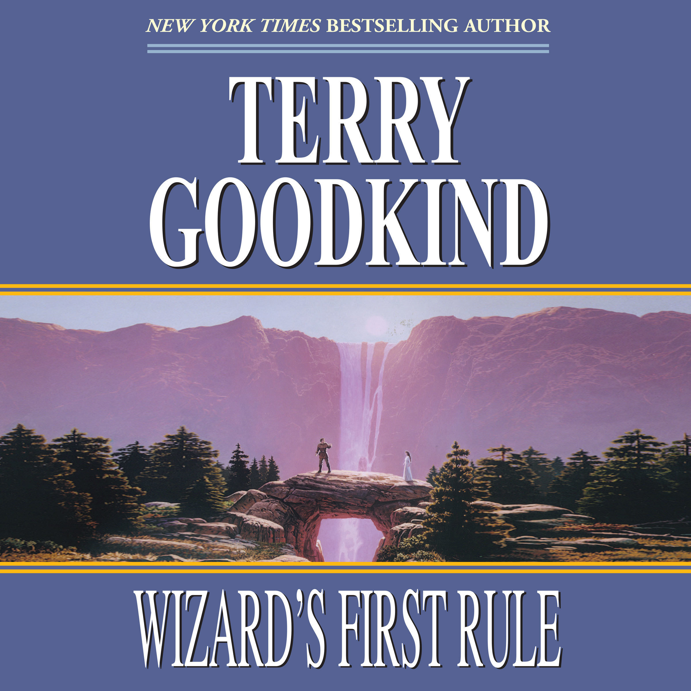 Printable Wizard's First Rule Audiobook Cover Art