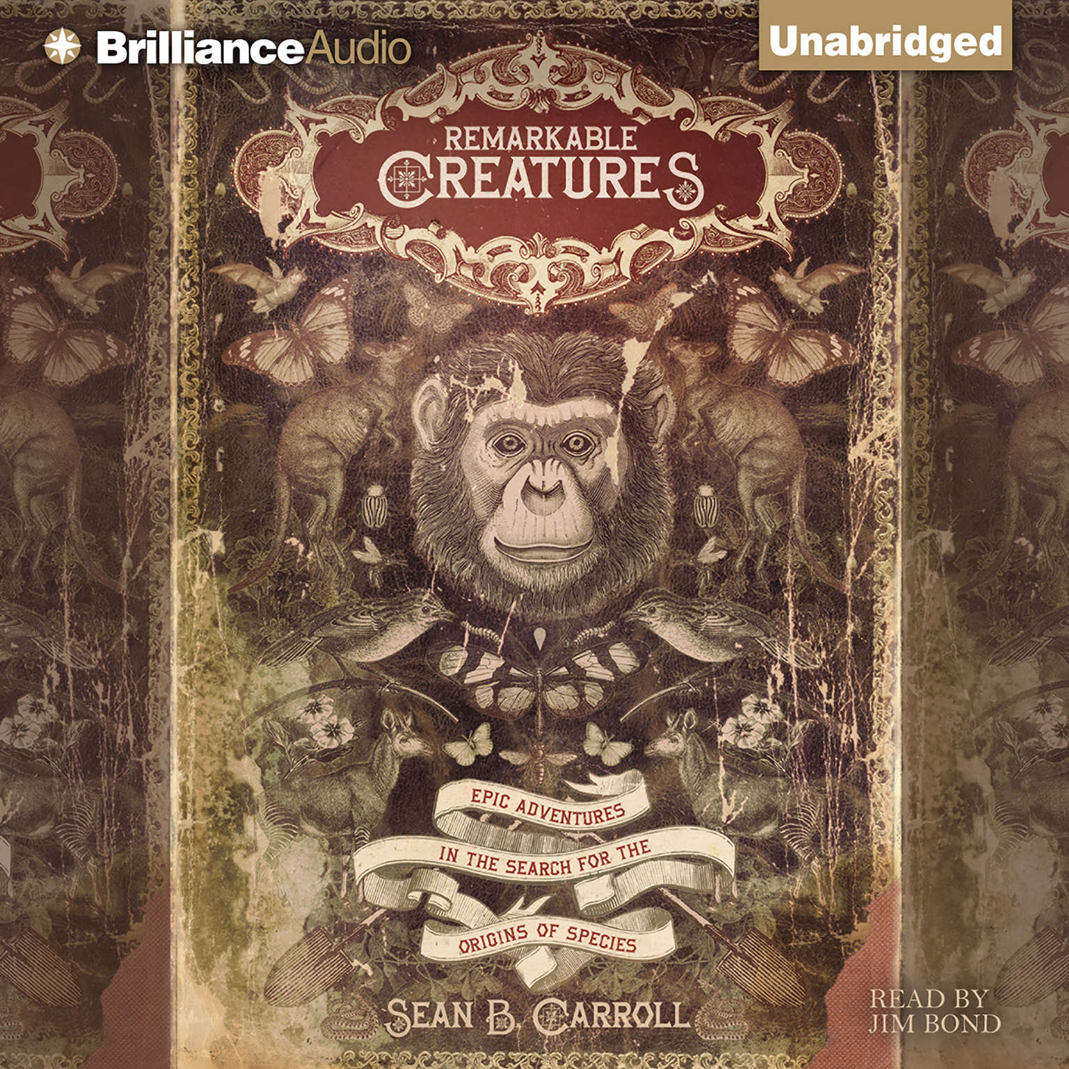 Printable Remarkable Creatures: Epic Adventures in the Search for the Origins of Species Audiobook Cover Art