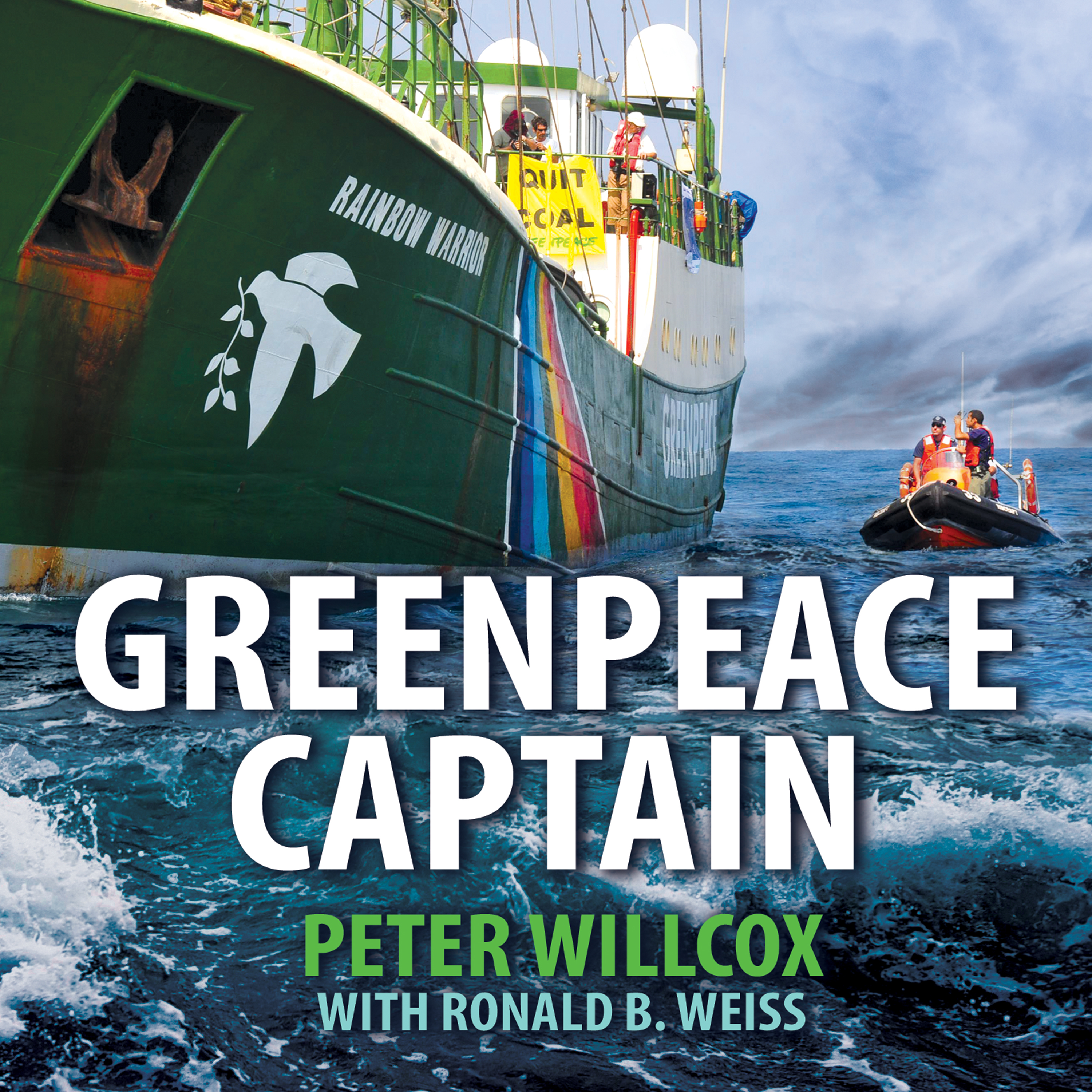 Printable Greenpeace Captain: My Adventures in Protecting the Future of Our Planet Audiobook Cover Art