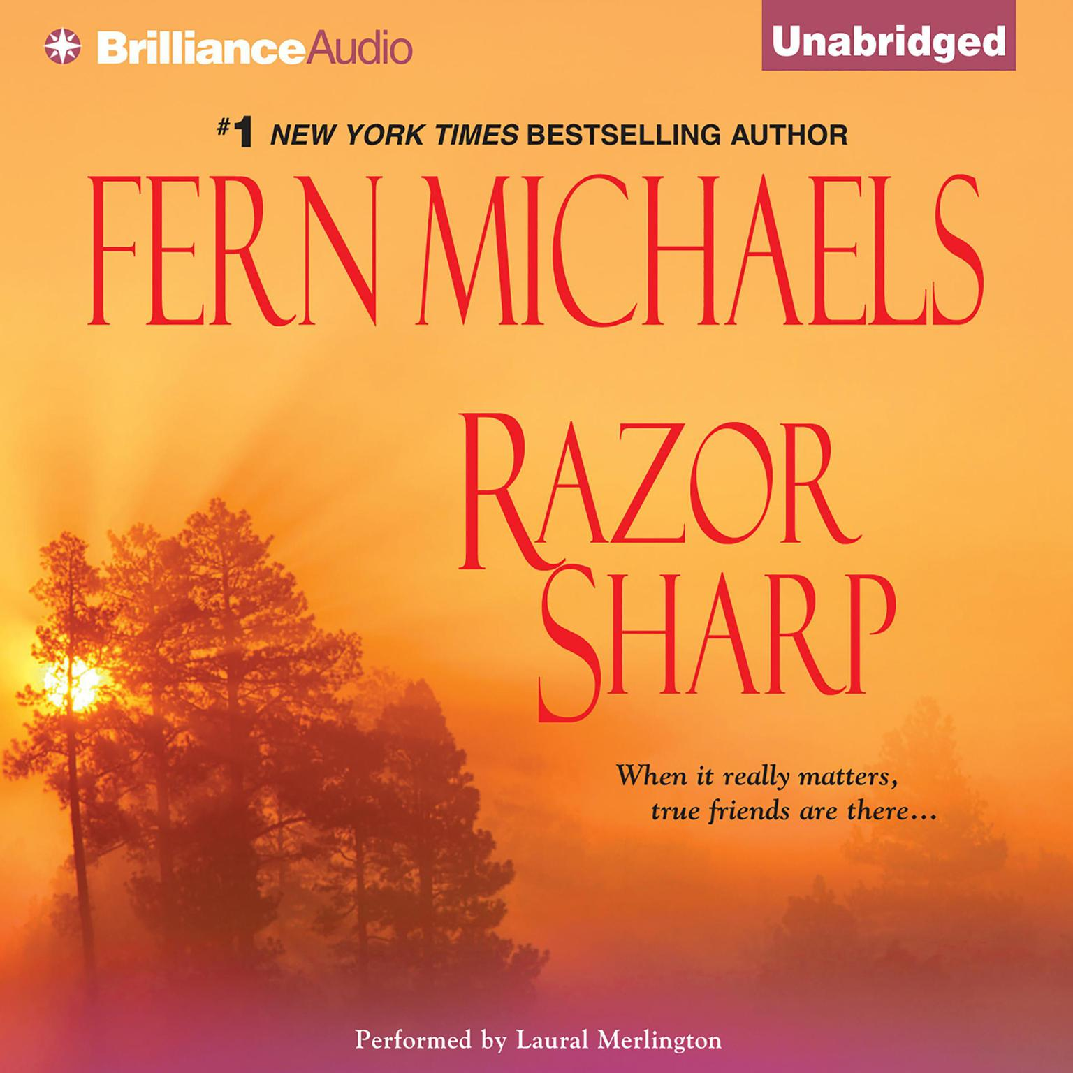 Printable Razor Sharp Audiobook Cover Art