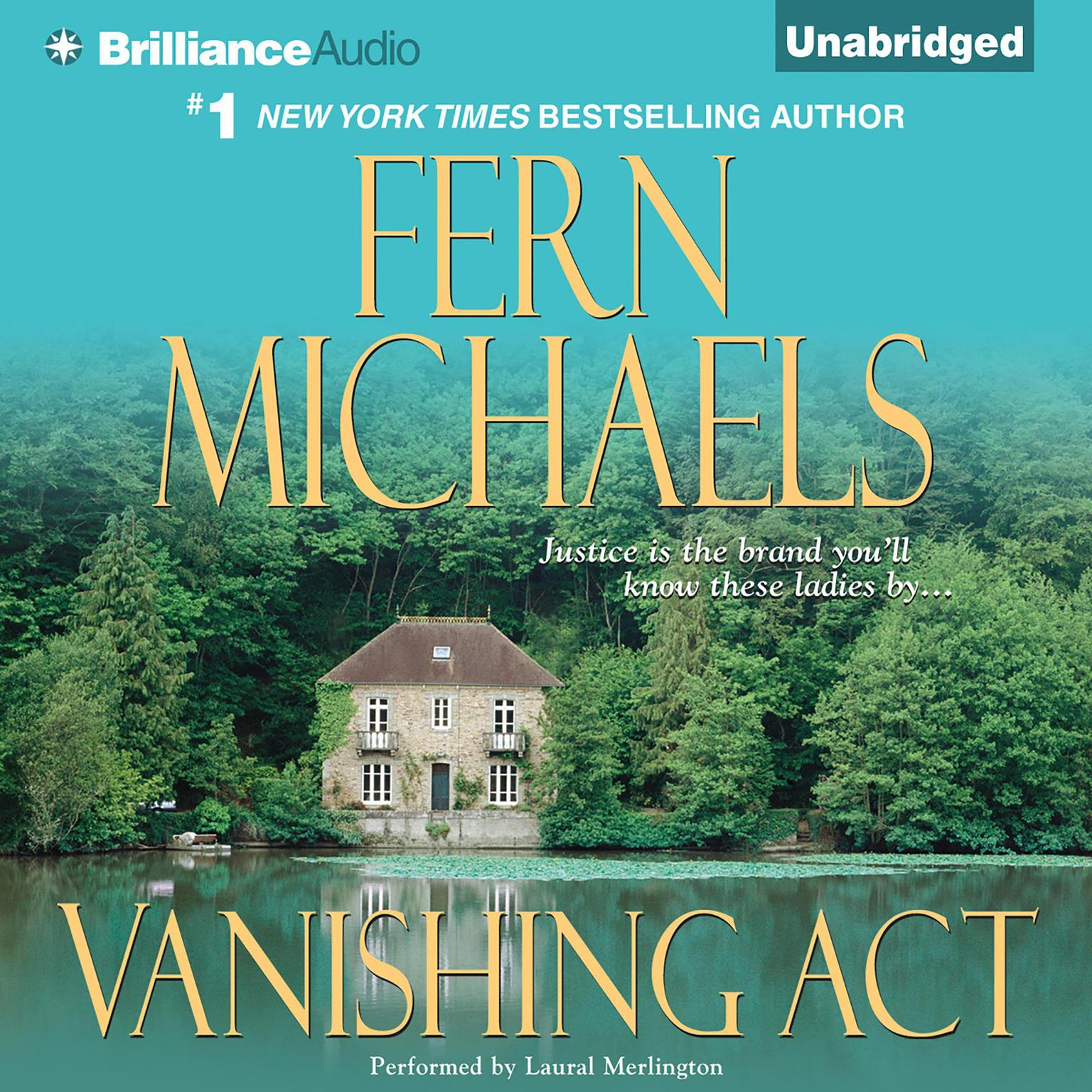 Printable Vanishing Act Audiobook Cover Art