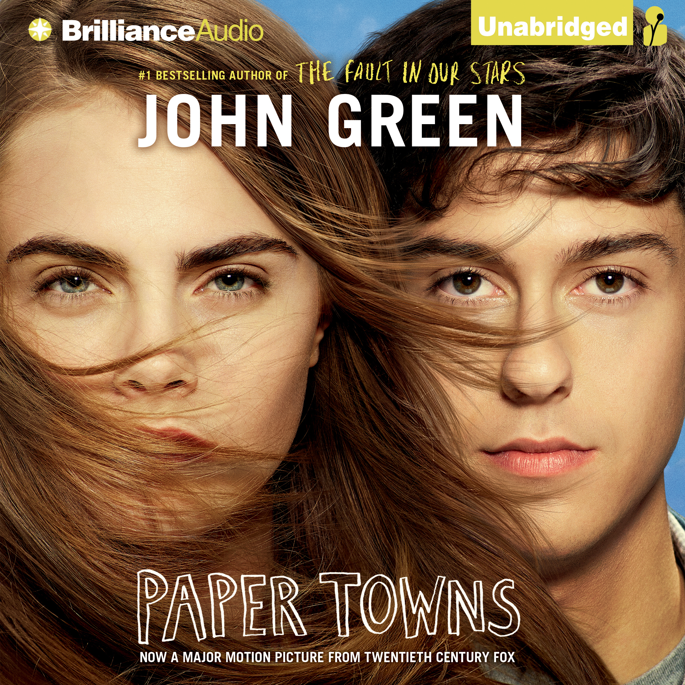 Printable Paper Towns Audiobook Cover Art