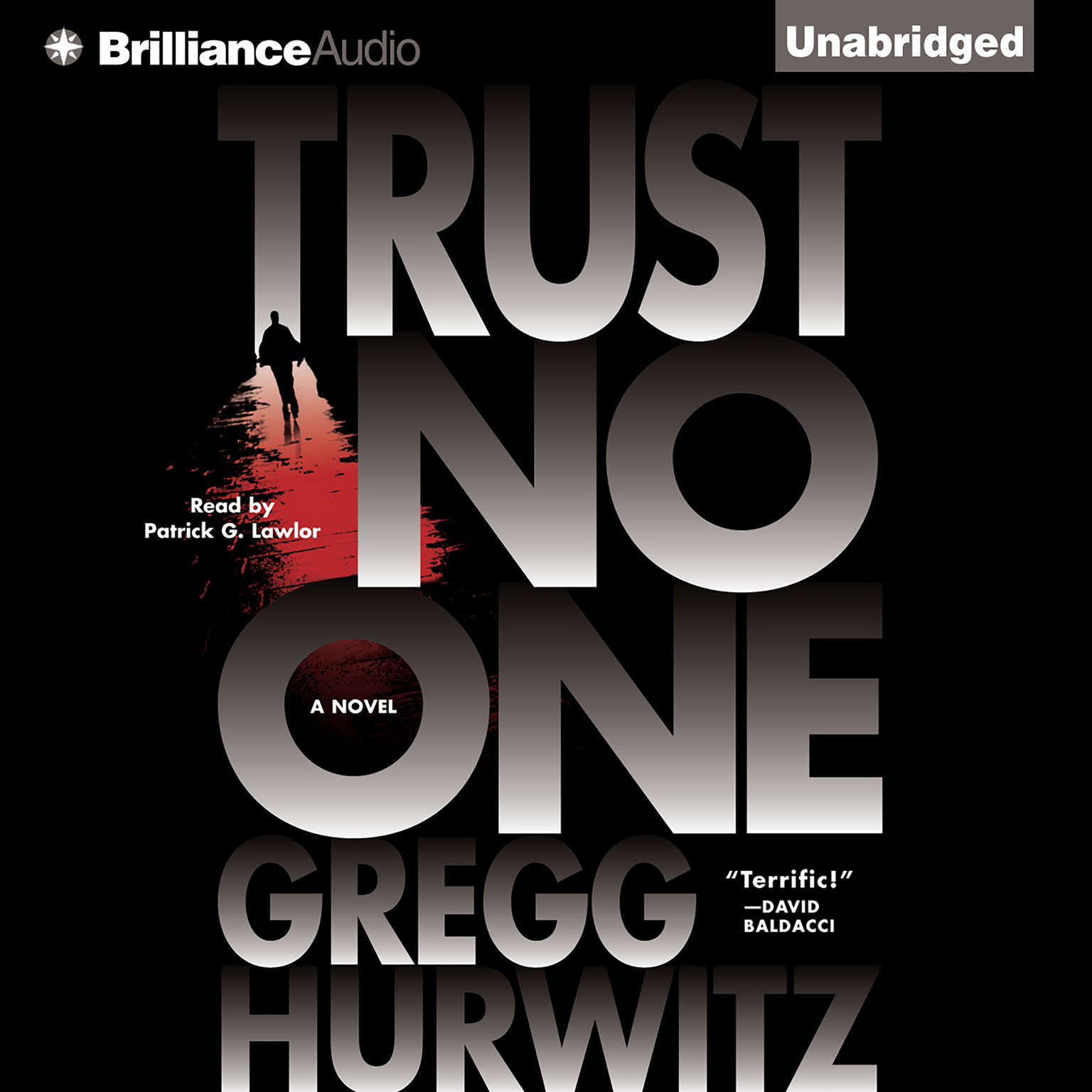 Printable Trust No One Audiobook Cover Art
