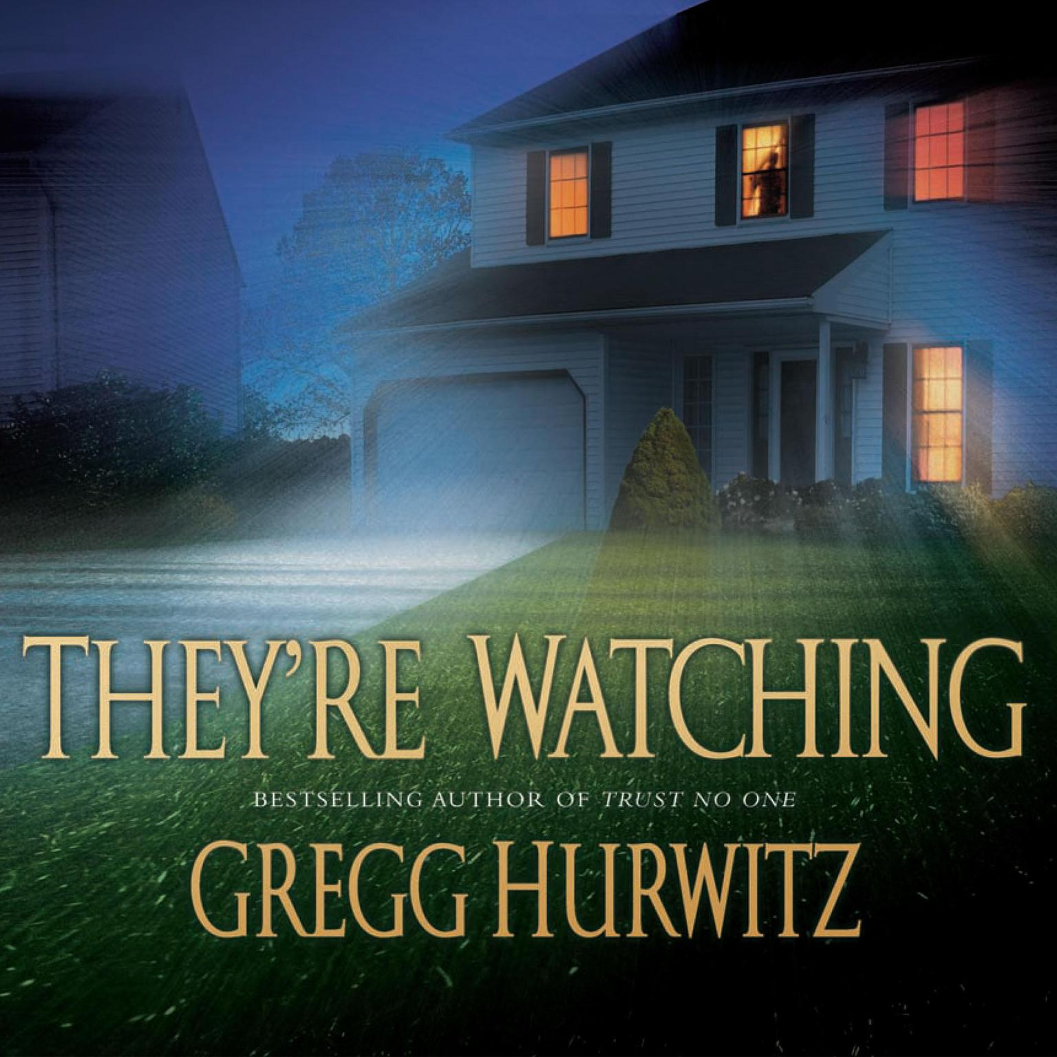 Printable They're Watching Audiobook Cover Art