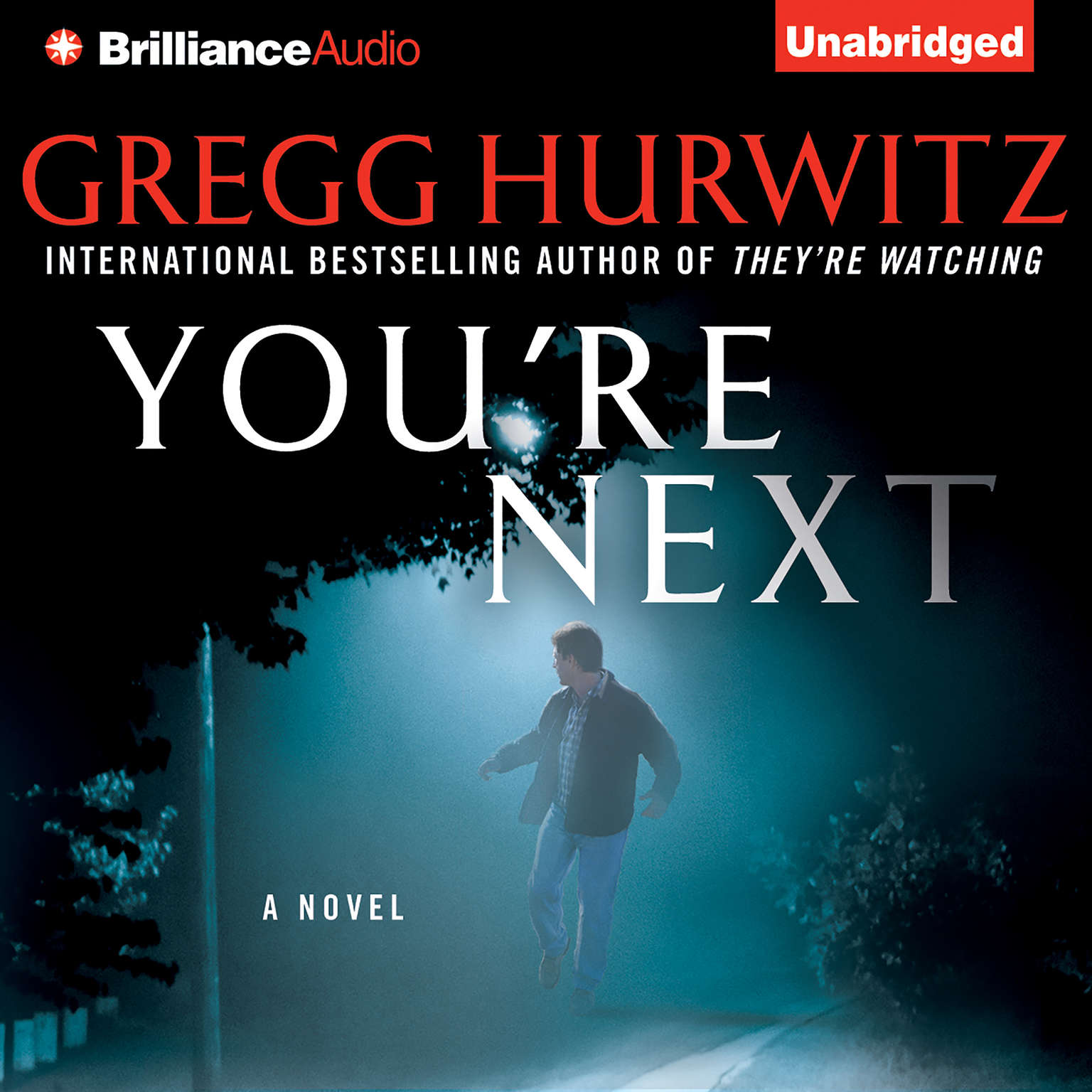 Printable You're Next Audiobook Cover Art