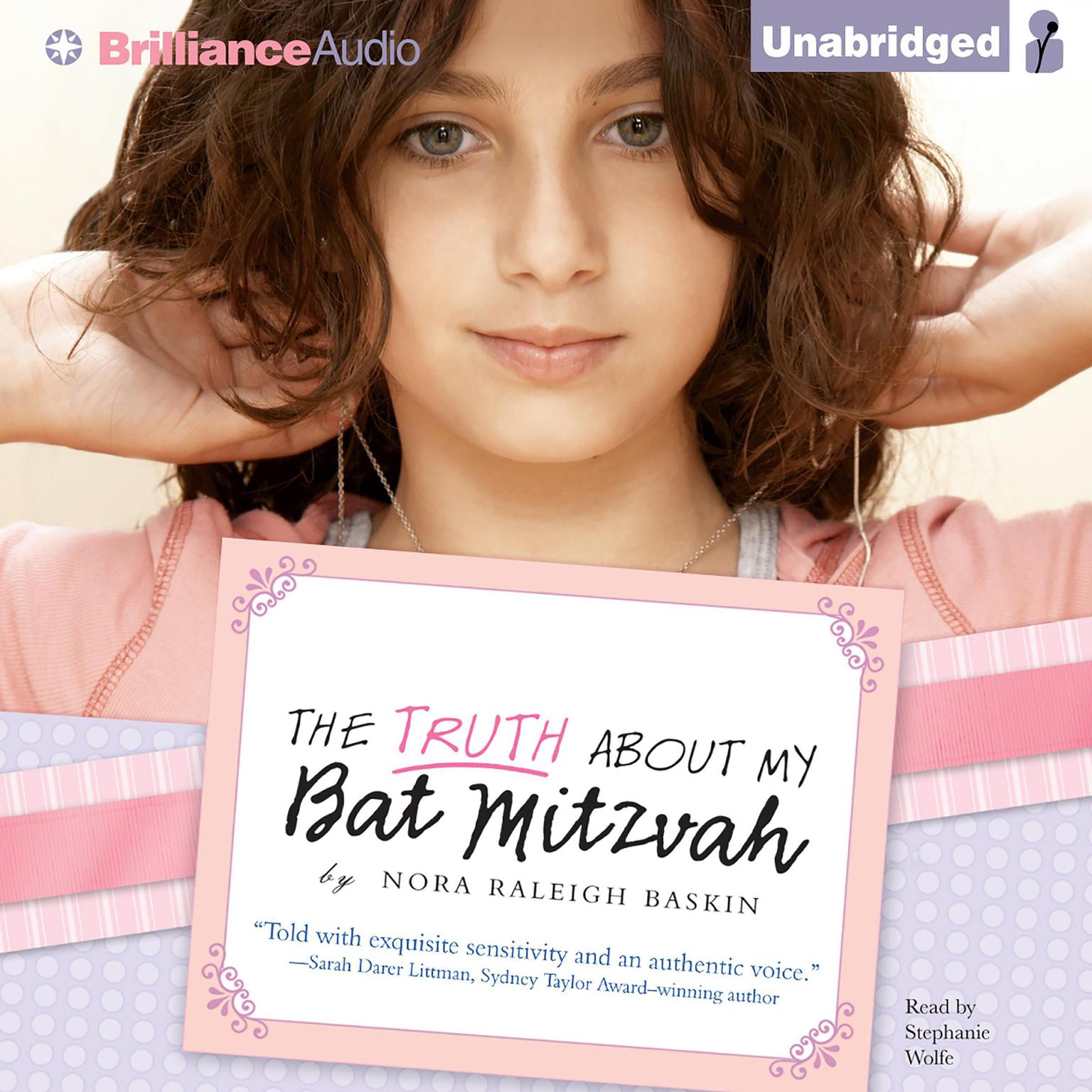 Printable The Truth About My Bat Mitzvah Audiobook Cover Art
