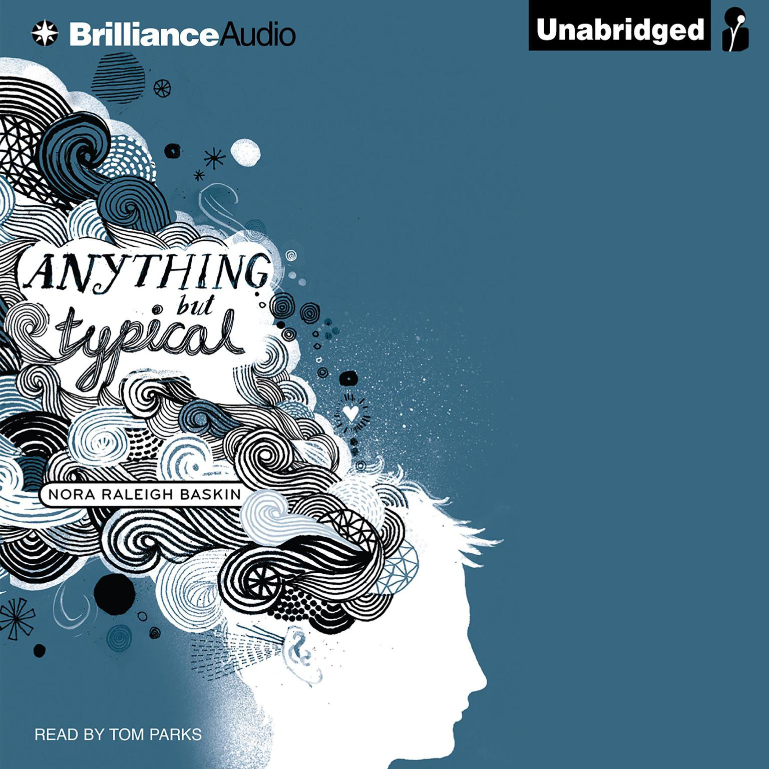 Printable Anything But Typical Audiobook Cover Art