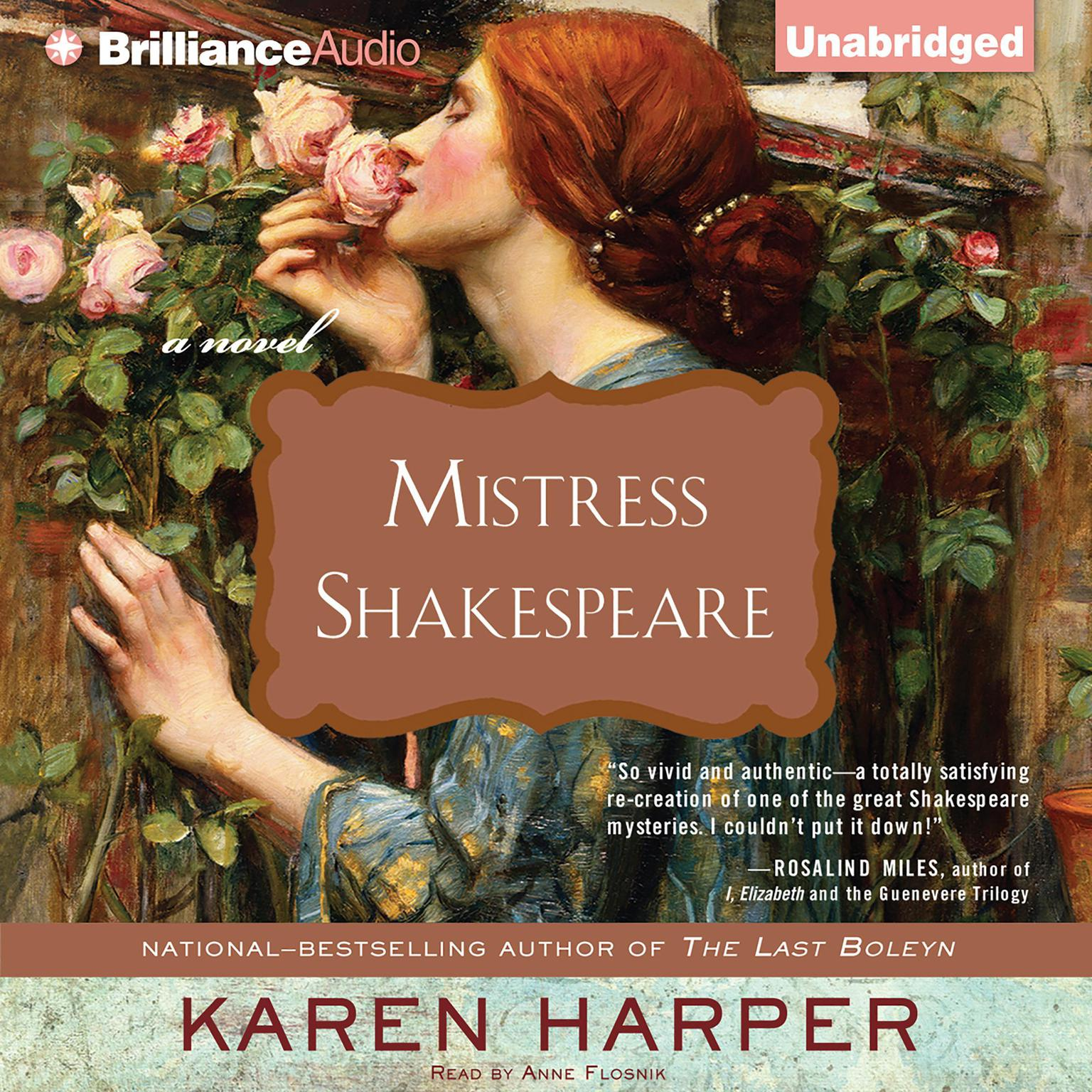 Printable Mistress Shakespeare: A Novel Audiobook Cover Art