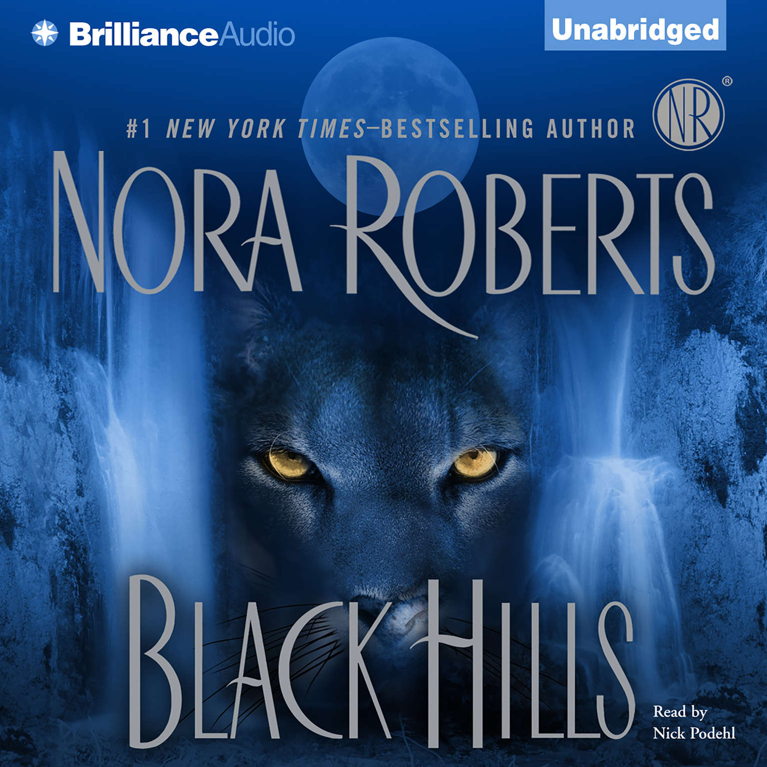 Printable Black Hills Audiobook Cover Art