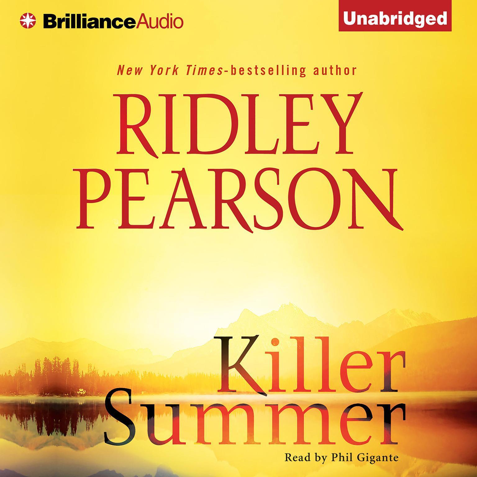 Printable Killer Summer Audiobook Cover Art