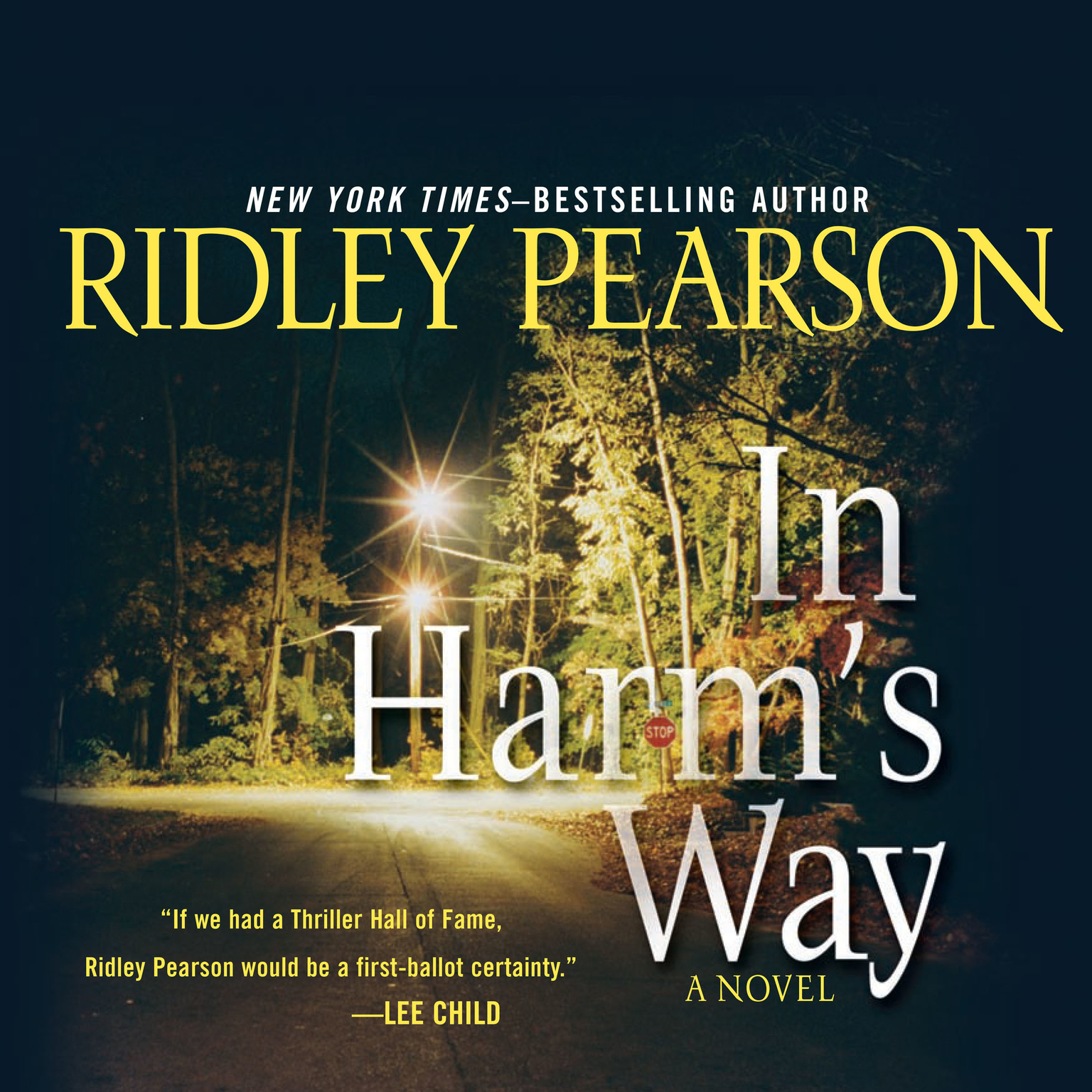 Printable In Harm's Way Audiobook Cover Art