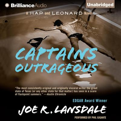 Captains Outrageous Audiobook, by Joe R. Lansdale