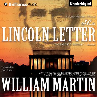 The Lincoln Letter Audiobook, by William Martin