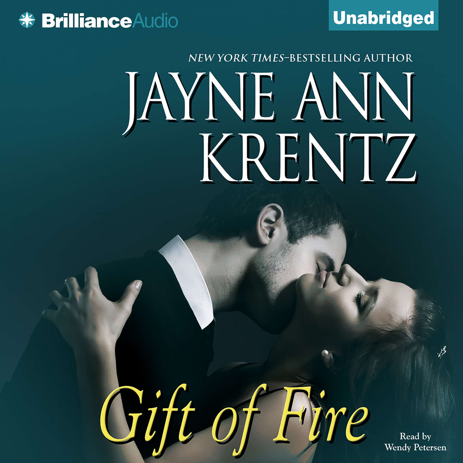 Printable Gift of Fire Audiobook Cover Art