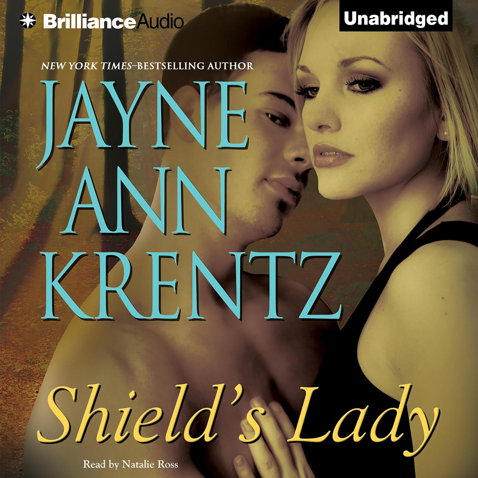 Printable Shield's Lady Audiobook Cover Art