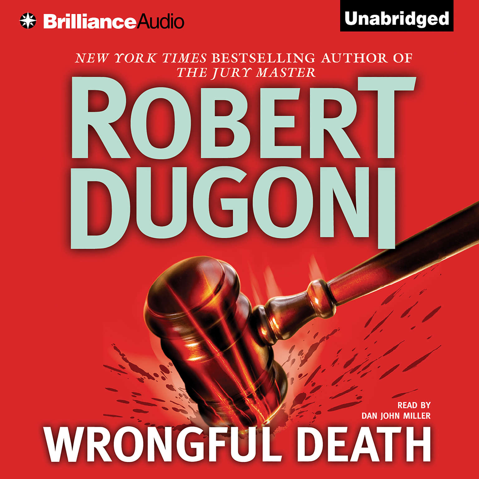 Printable Wrongful Death Audiobook Cover Art