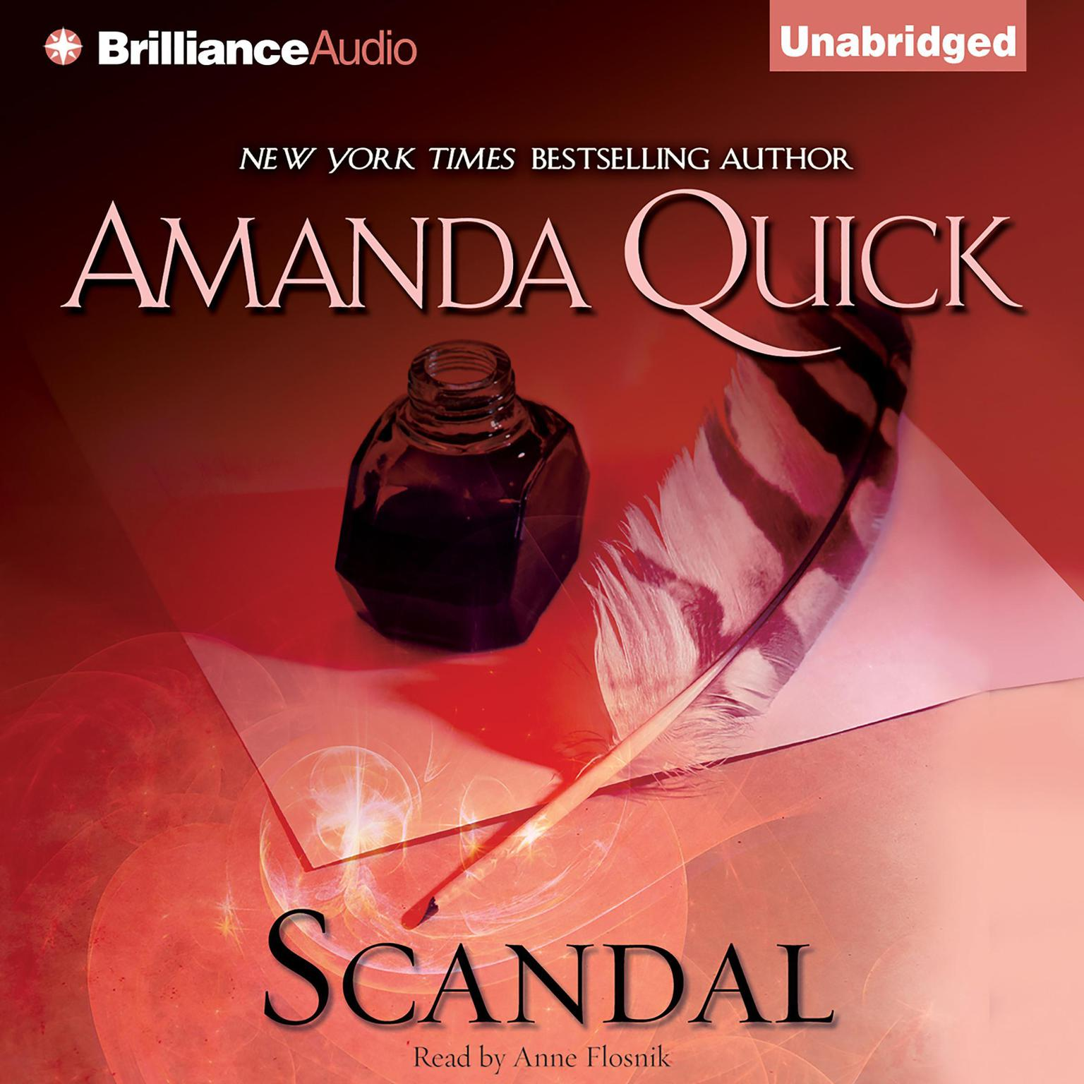 Printable Scandal Audiobook Cover Art