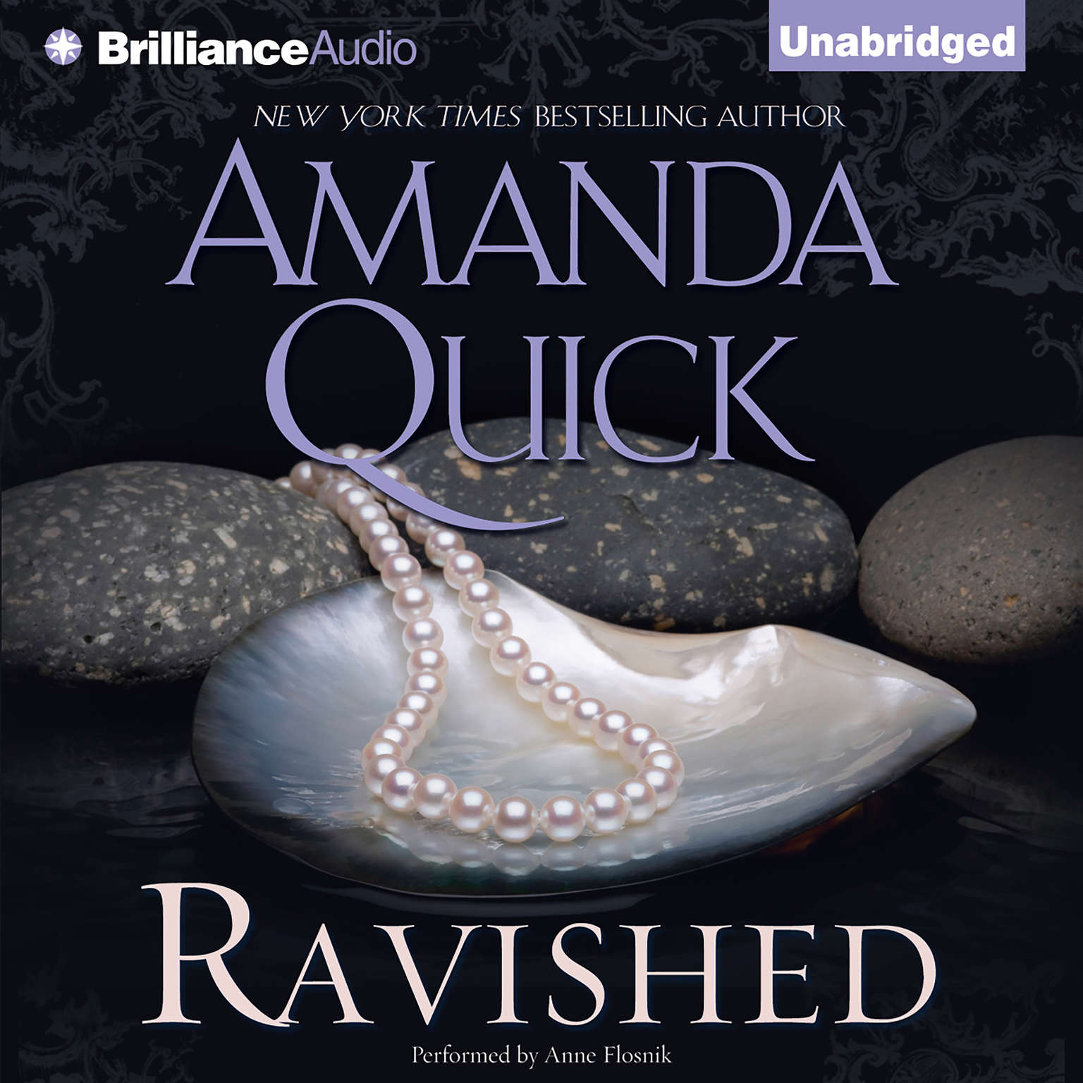 Printable Ravished Audiobook Cover Art