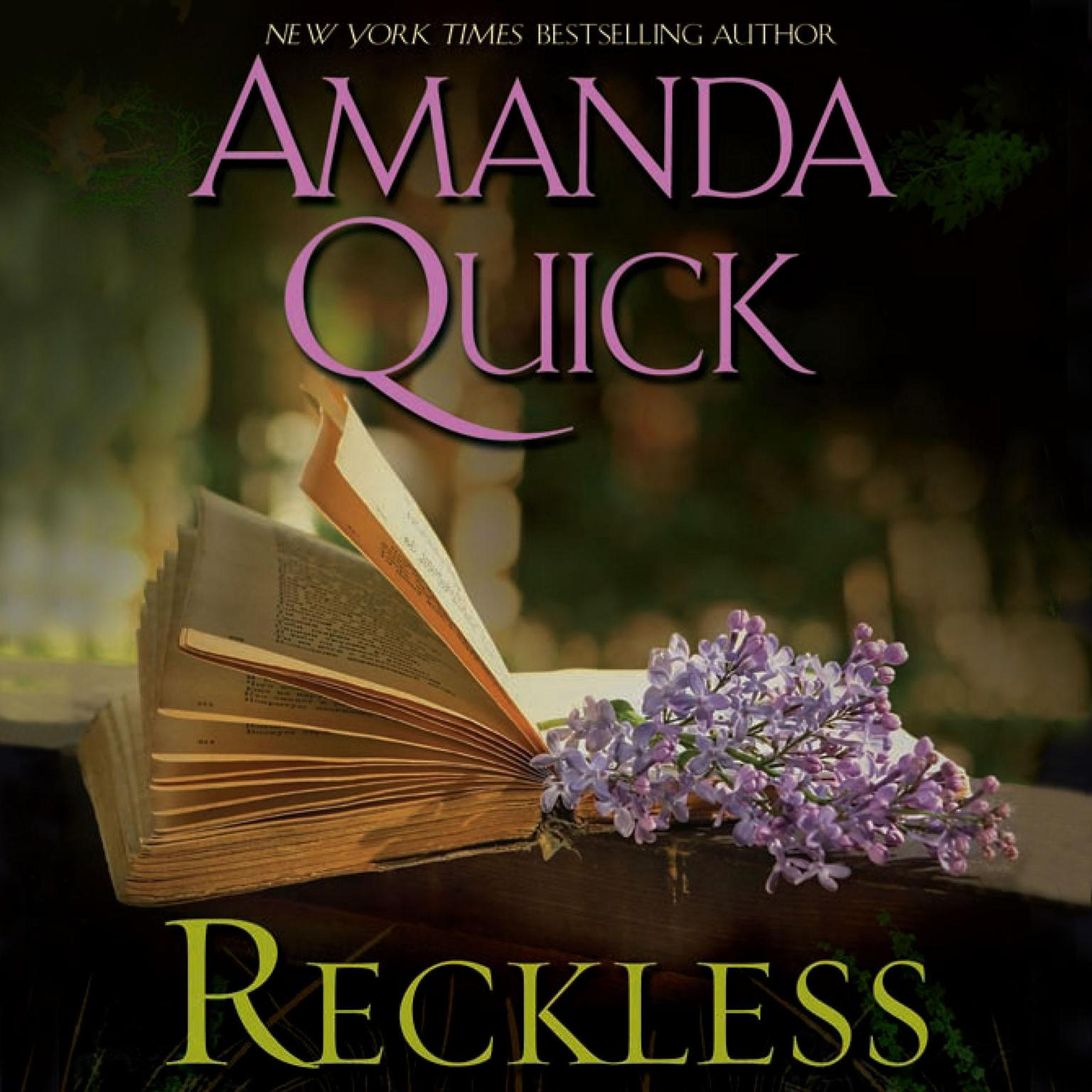 Printable Reckless Audiobook Cover Art