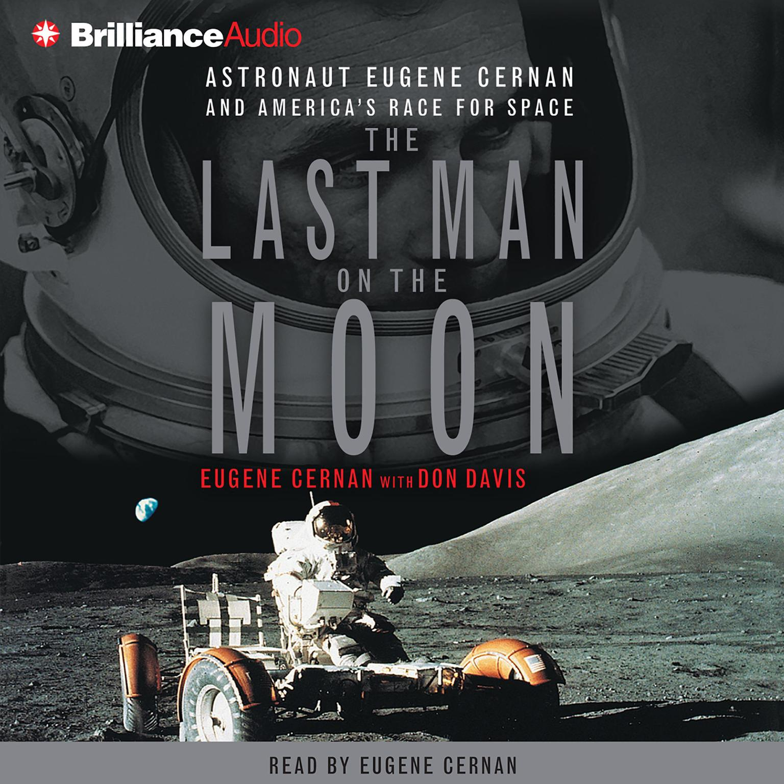 Printable The Last Man On the Moon Audiobook Cover Art
