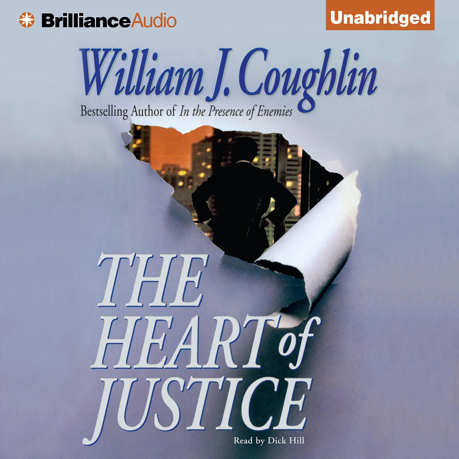 Printable The Heart of Justice Audiobook Cover Art
