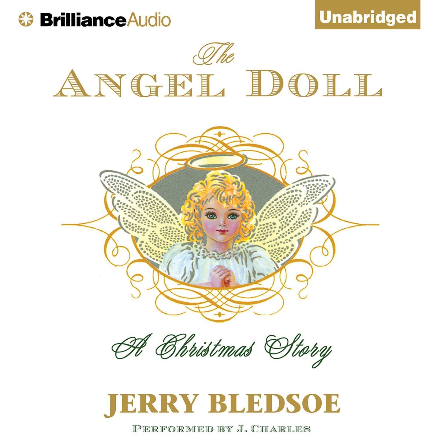 Printable The Angel Doll: A Christmas Story Audiobook Cover Art