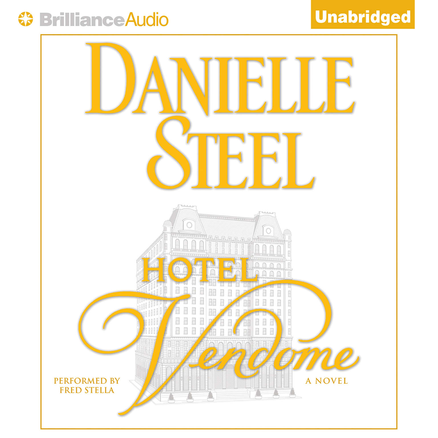 Printable Hotel Vendome Audiobook Cover Art