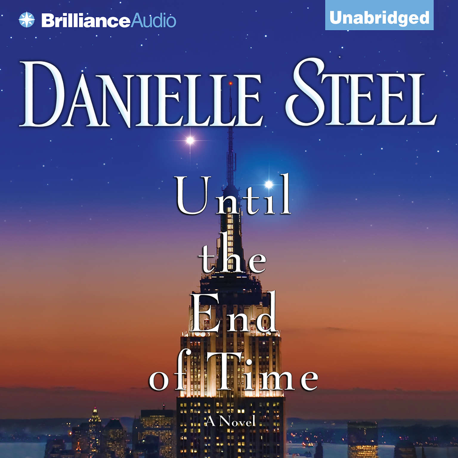Printable Until the End of Time: A Novel Audiobook Cover Art