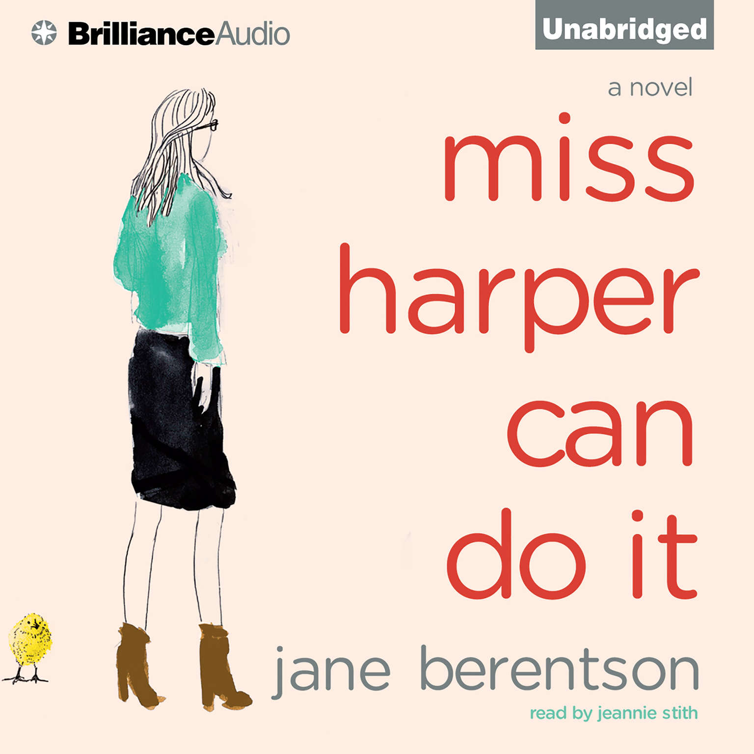 Printable Miss Harper Can Do It Audiobook Cover Art