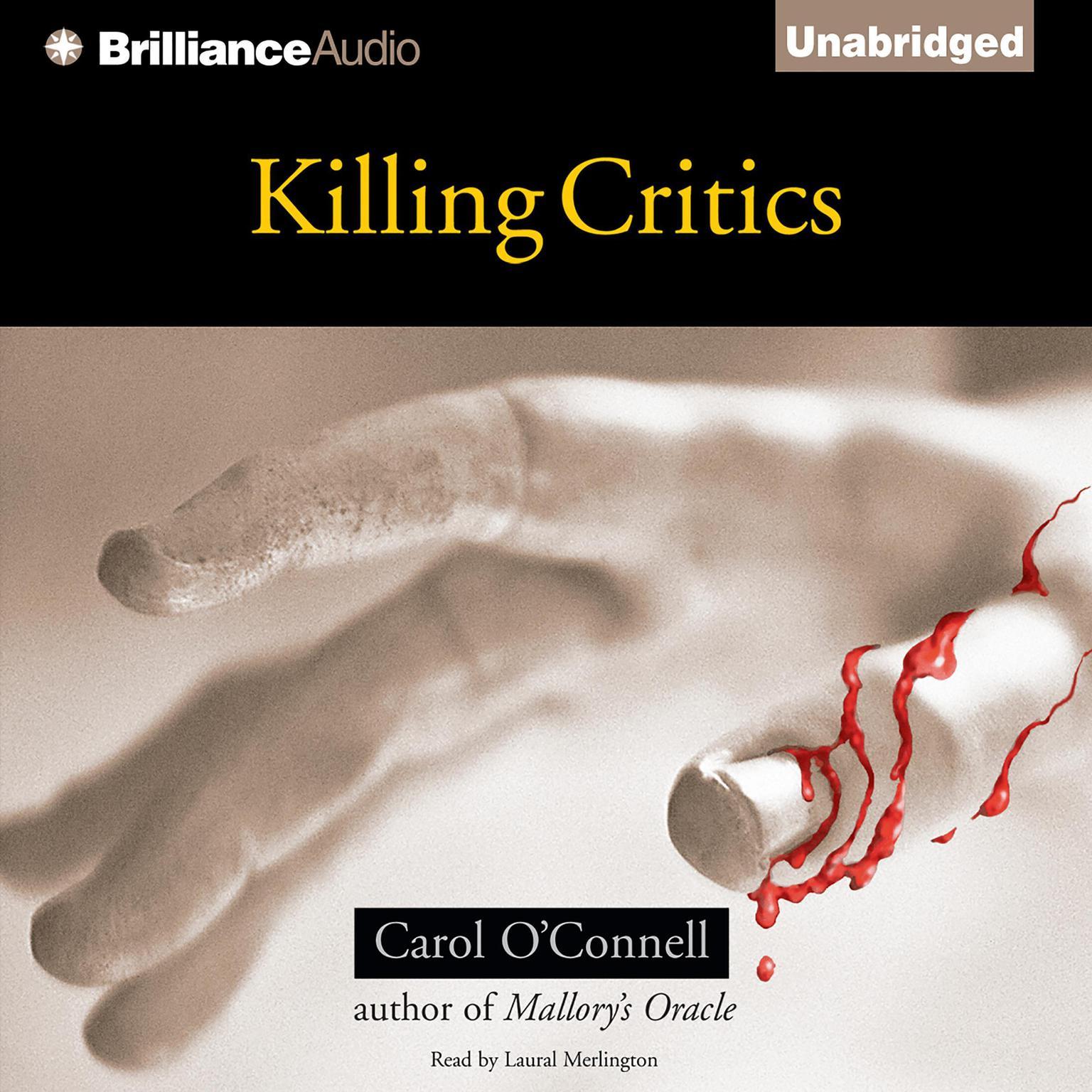 Printable Killing Critics Audiobook Cover Art