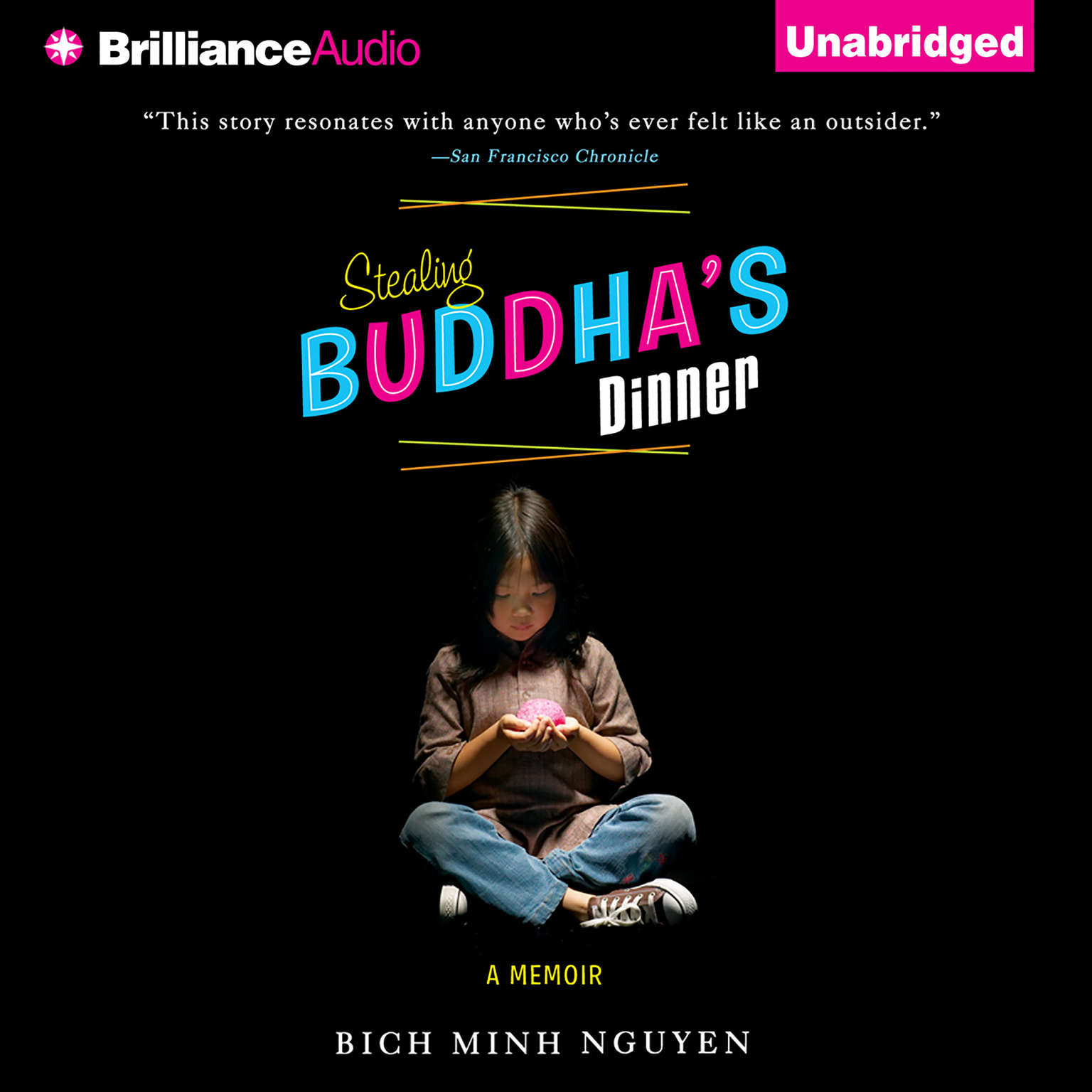 Printable Stealing Buddha's Dinner Audiobook Cover Art