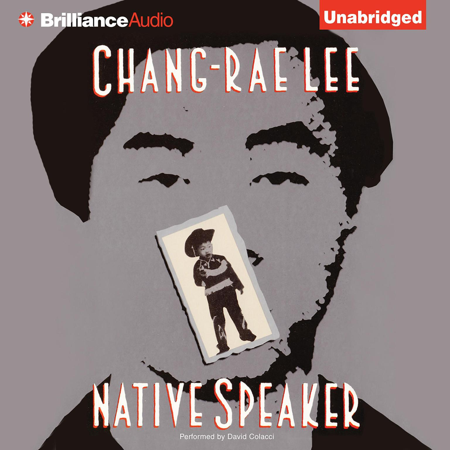 Printable Native Speaker Audiobook Cover Art