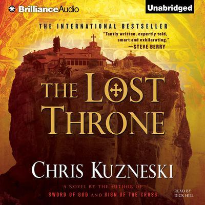 The Lost Throne Audiobook, by Chris Kuzneski