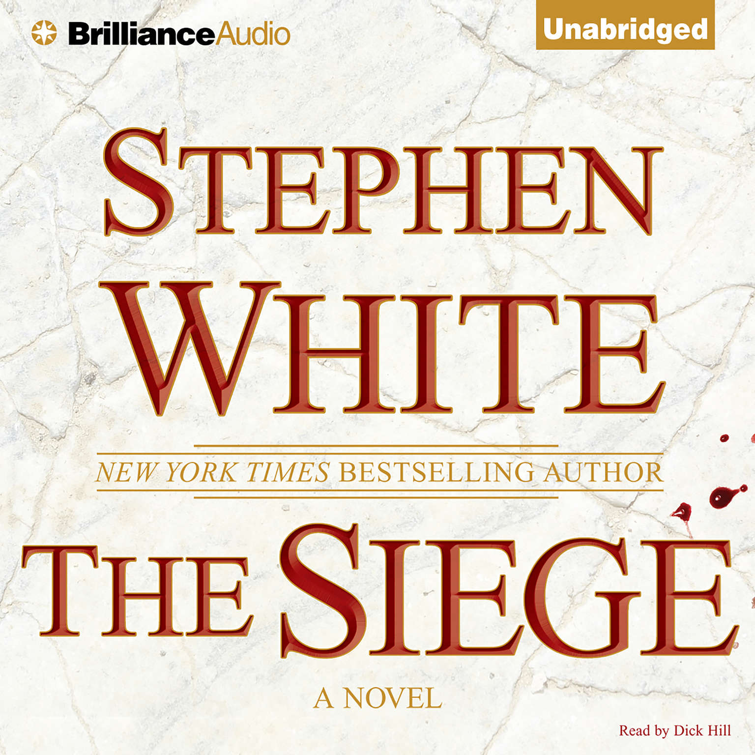 Printable The Siege Audiobook Cover Art