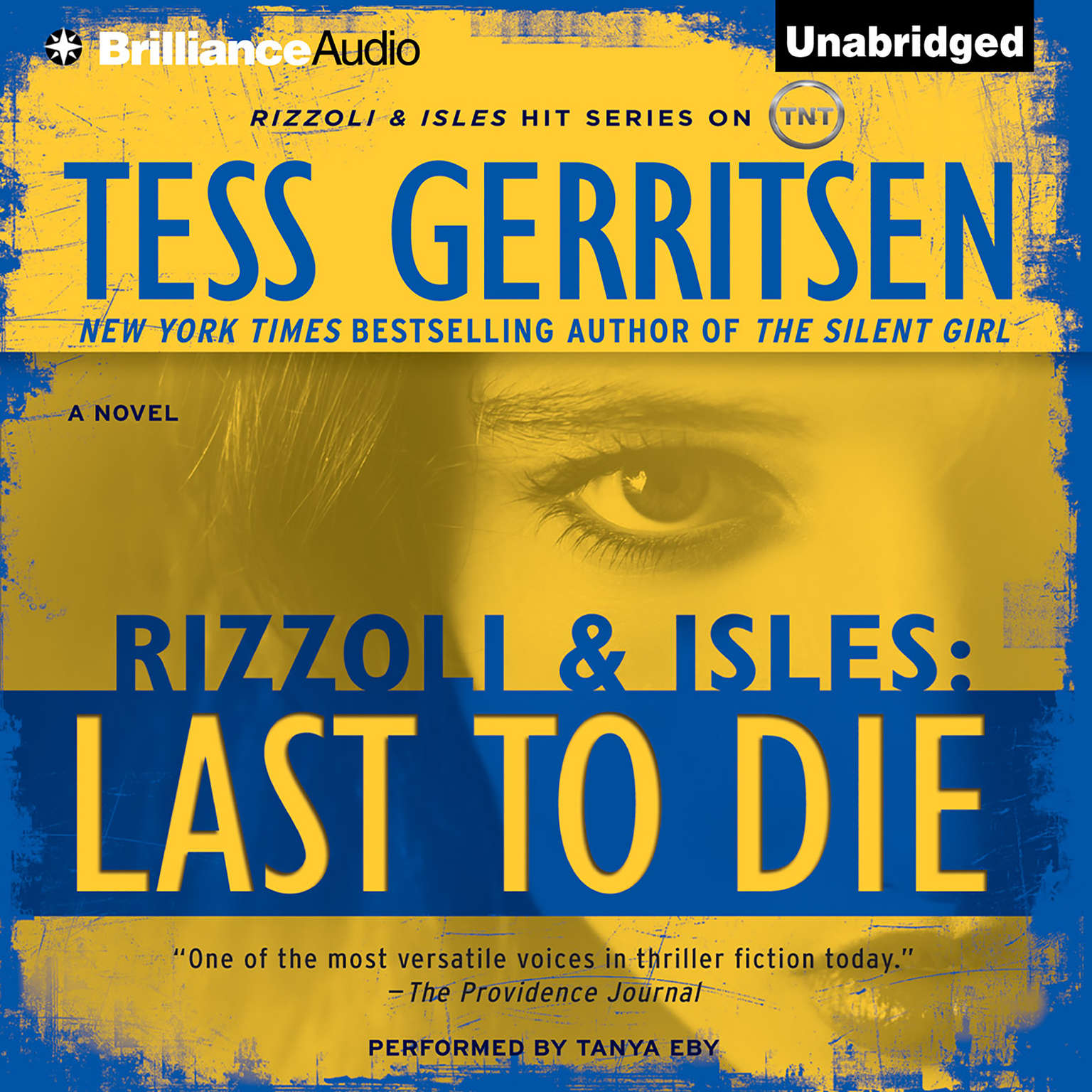 Printable Last to Die: A Rizzoli and Isles Novel Audiobook Cover Art