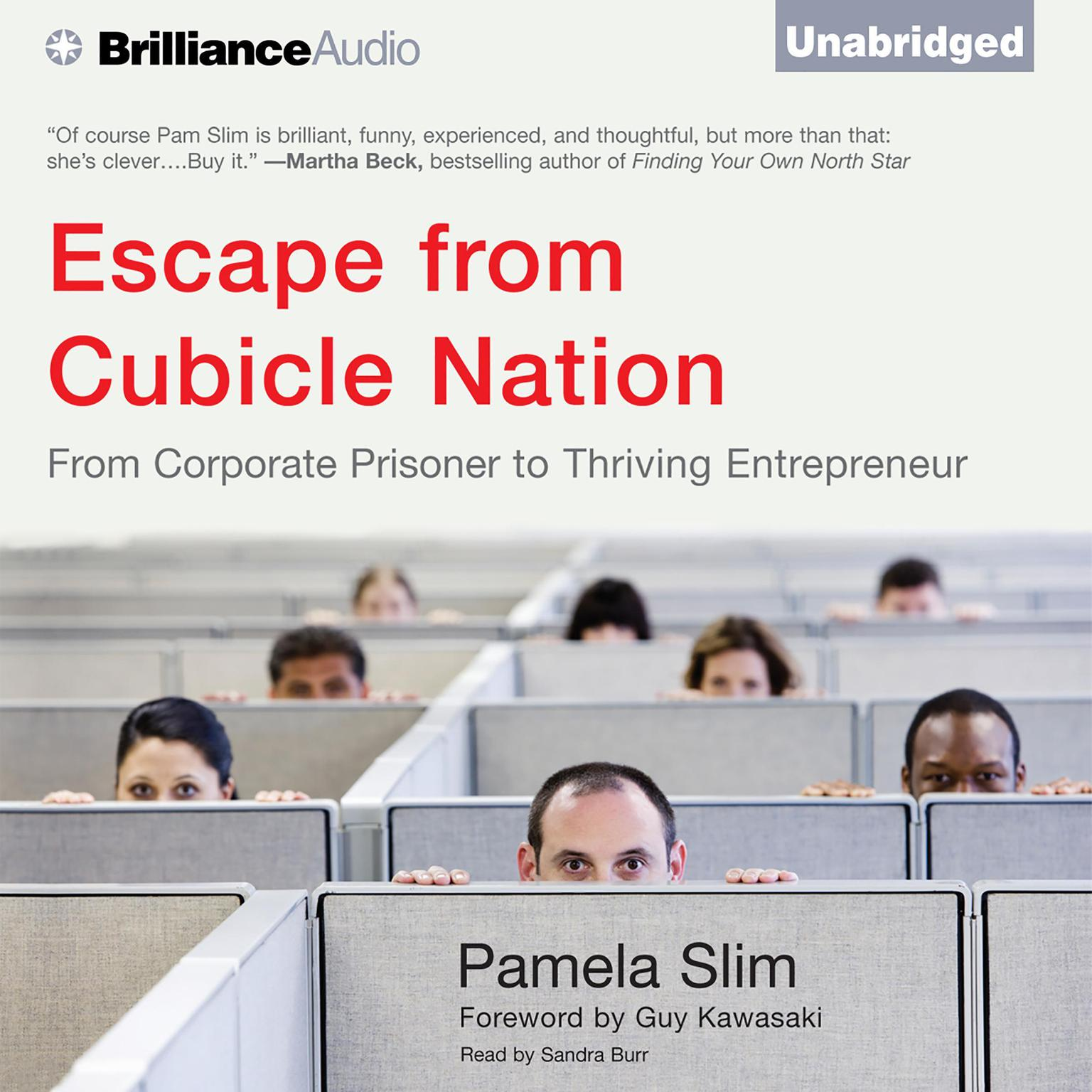 Printable Escape from Cubicle Nation: From Corporate Prisoner to Thriving Entrepreneur Audiobook Cover Art
