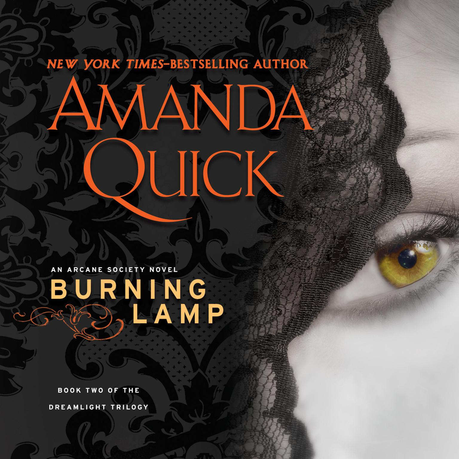 Printable Burning Lamp Audiobook Cover Art