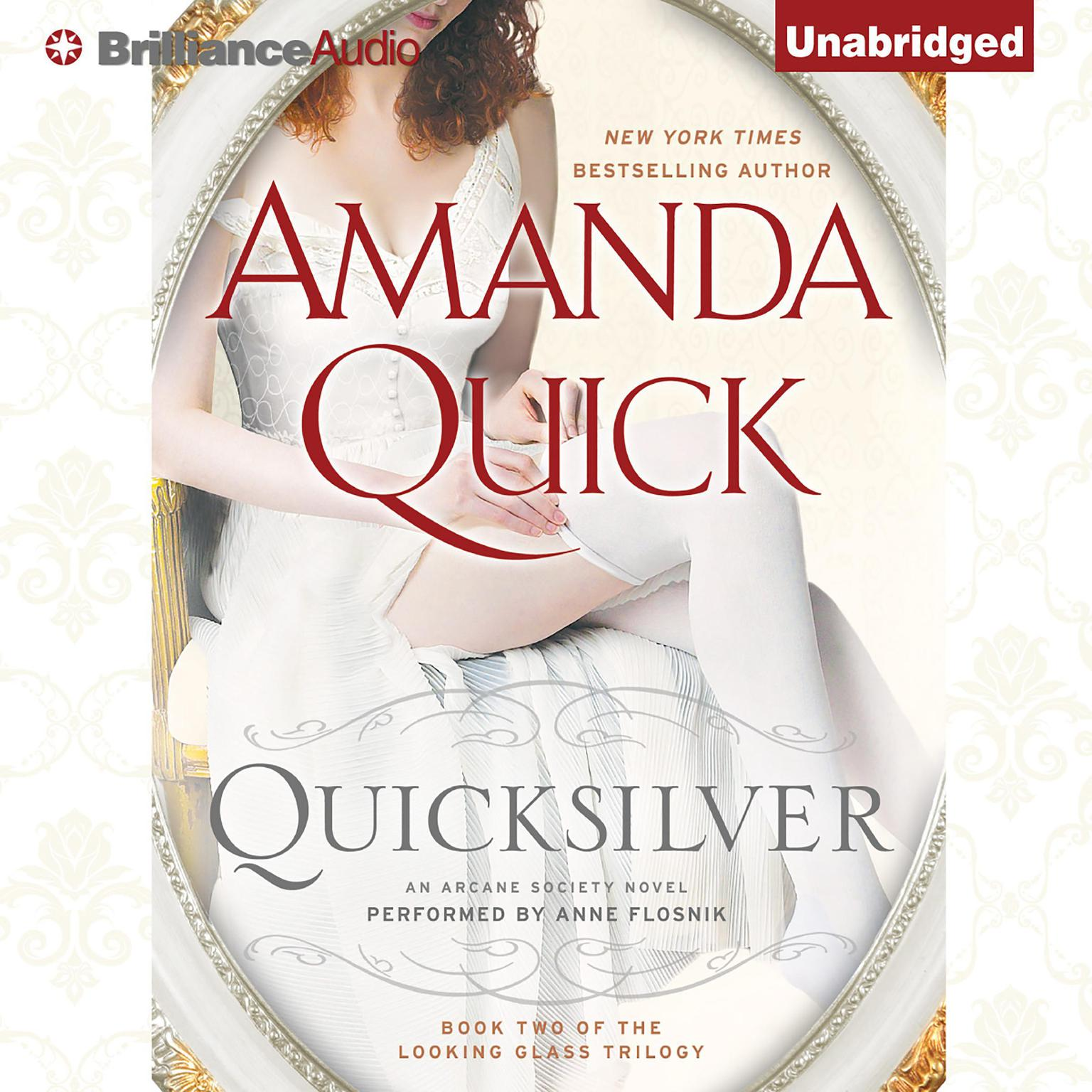 Printable Quicksilver Audiobook Cover Art