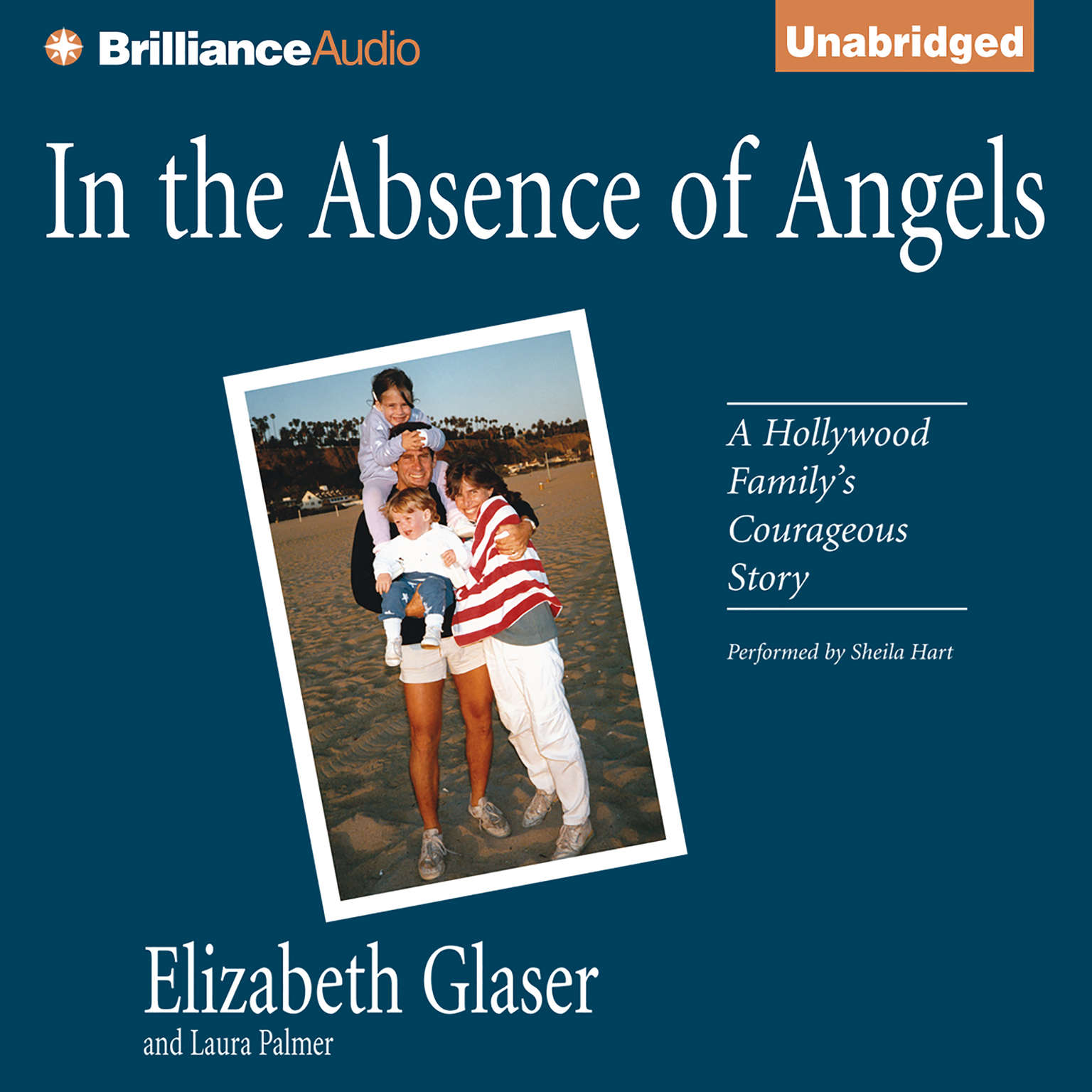 Printable In the Absence of Angels Audiobook Cover Art
