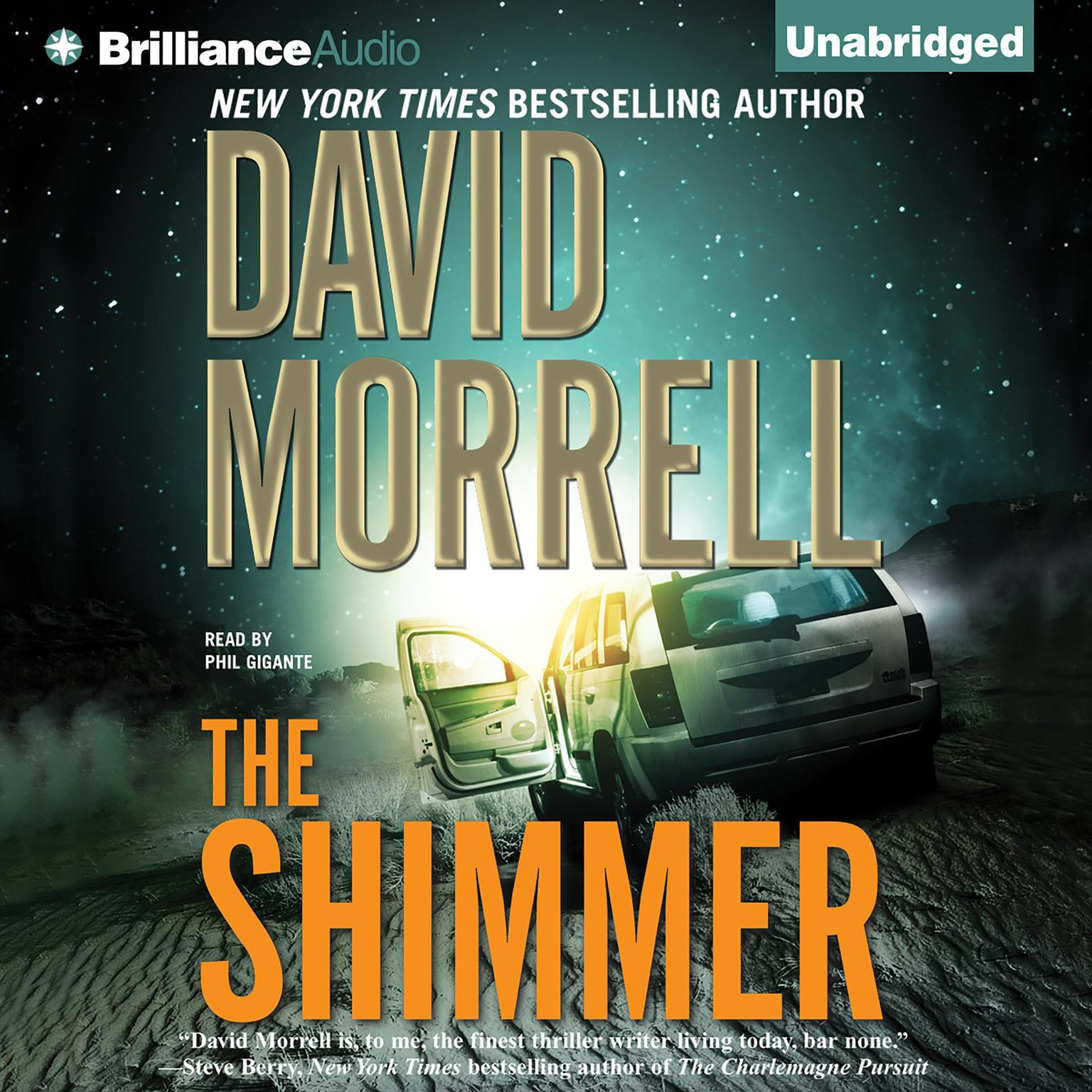 Printable The Shimmer Audiobook Cover Art