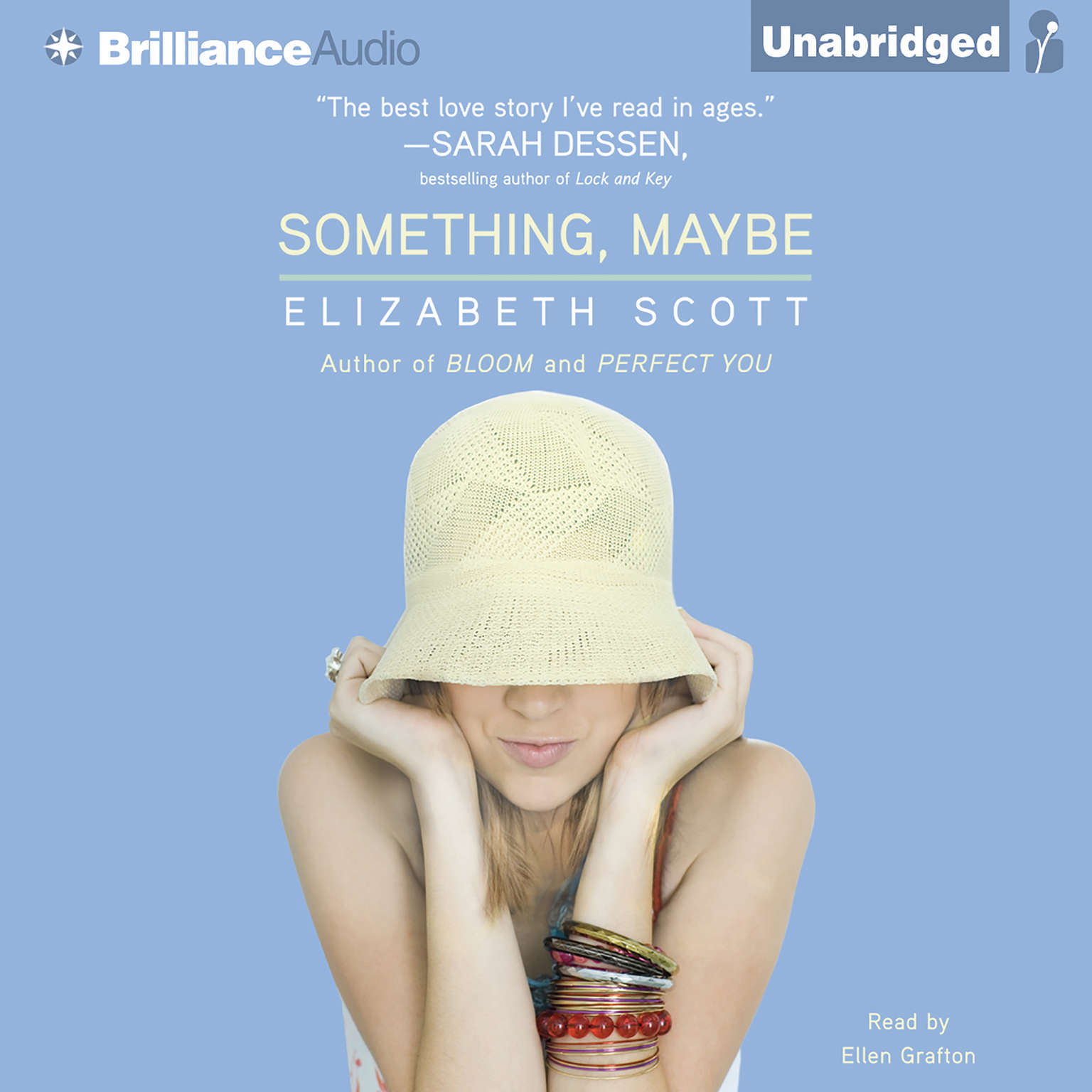Printable Something, Maybe Audiobook Cover Art