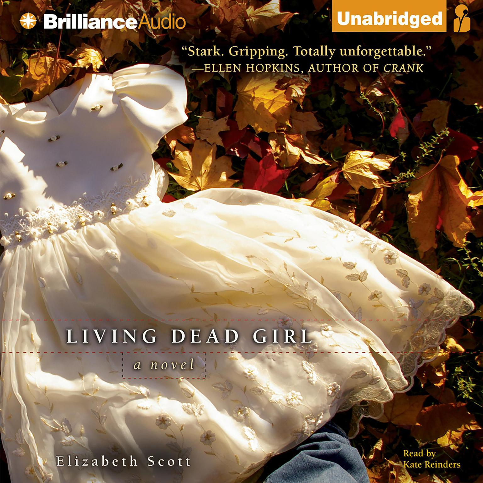 Printable Living Dead Girl Audiobook Cover Art